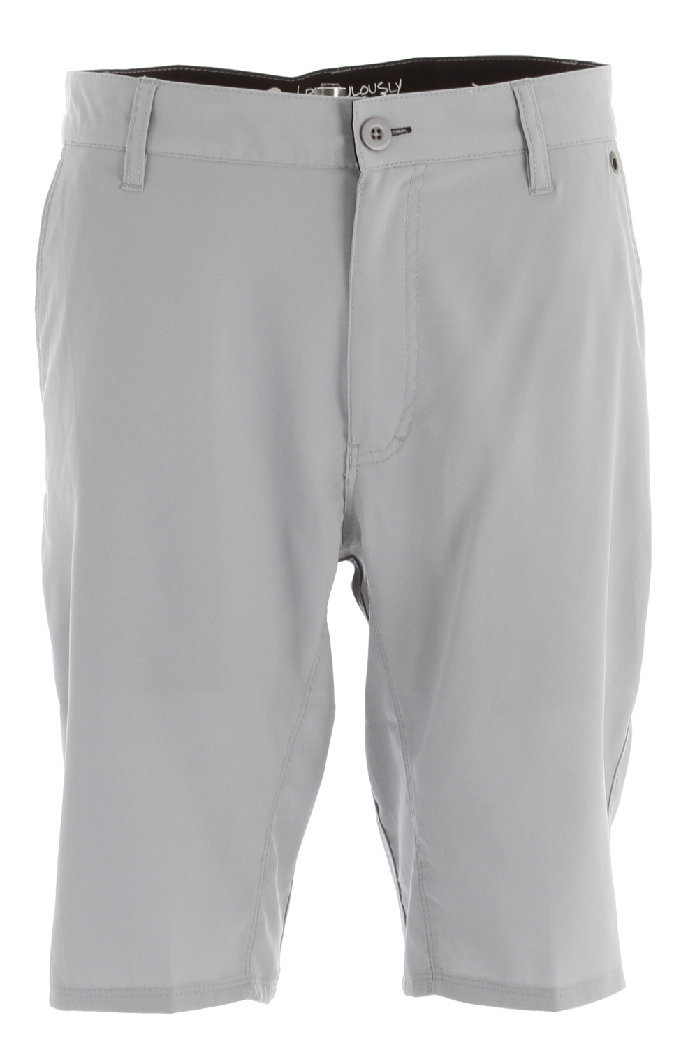 "Surf Key Features of the Reef Warm Water Shorts: 4 way mechanical stretch fabric 100% polyester ""land 2 sea"" surfable walkshort Mesh pocket bags Slim fit 21"" outseam - $35.95"