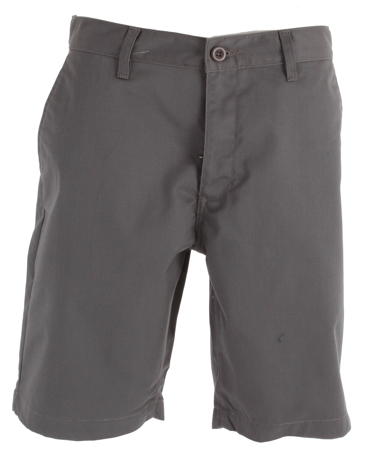 "Key Features of the RVCA Weekender Shorts: 65% polyester/35% cotton twill chino slack short Zipper fly with button closure Single welt pockets at back with RVCA solo label Slash pockets at front Outseam 20"" - $27.95"