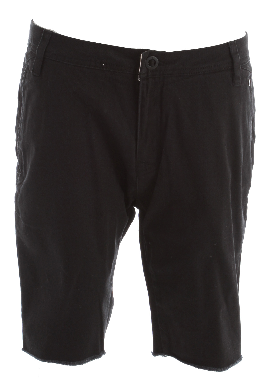 "Surf Key Features of the Volcom Cut Off Chino 21"" 2X4 Shorts: 21"" outseam Tight leg fit chino short Cuffed raw hem Welt back pocket Pre-laundered 97% cotton/3% elastane stretch twill - $33.95"