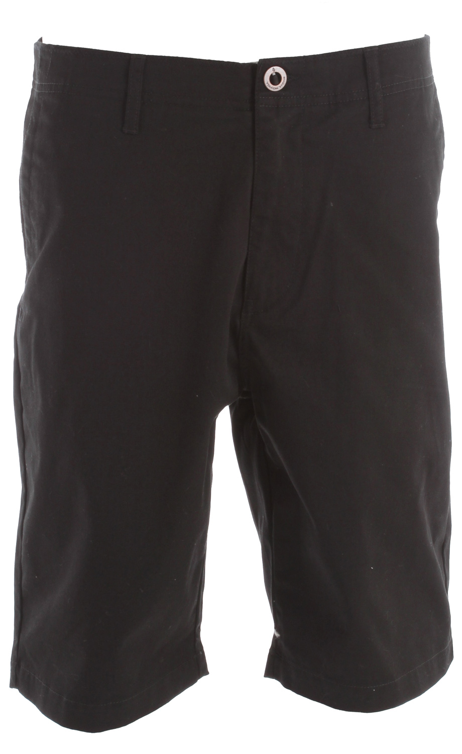 "Surf Key Features of the Volcom Fairmondo Shorts: 22"" outseam Relaxed fit chino short Patch back pockets Pre-laundered 60% cotton/40% polyester twill - $24.95"