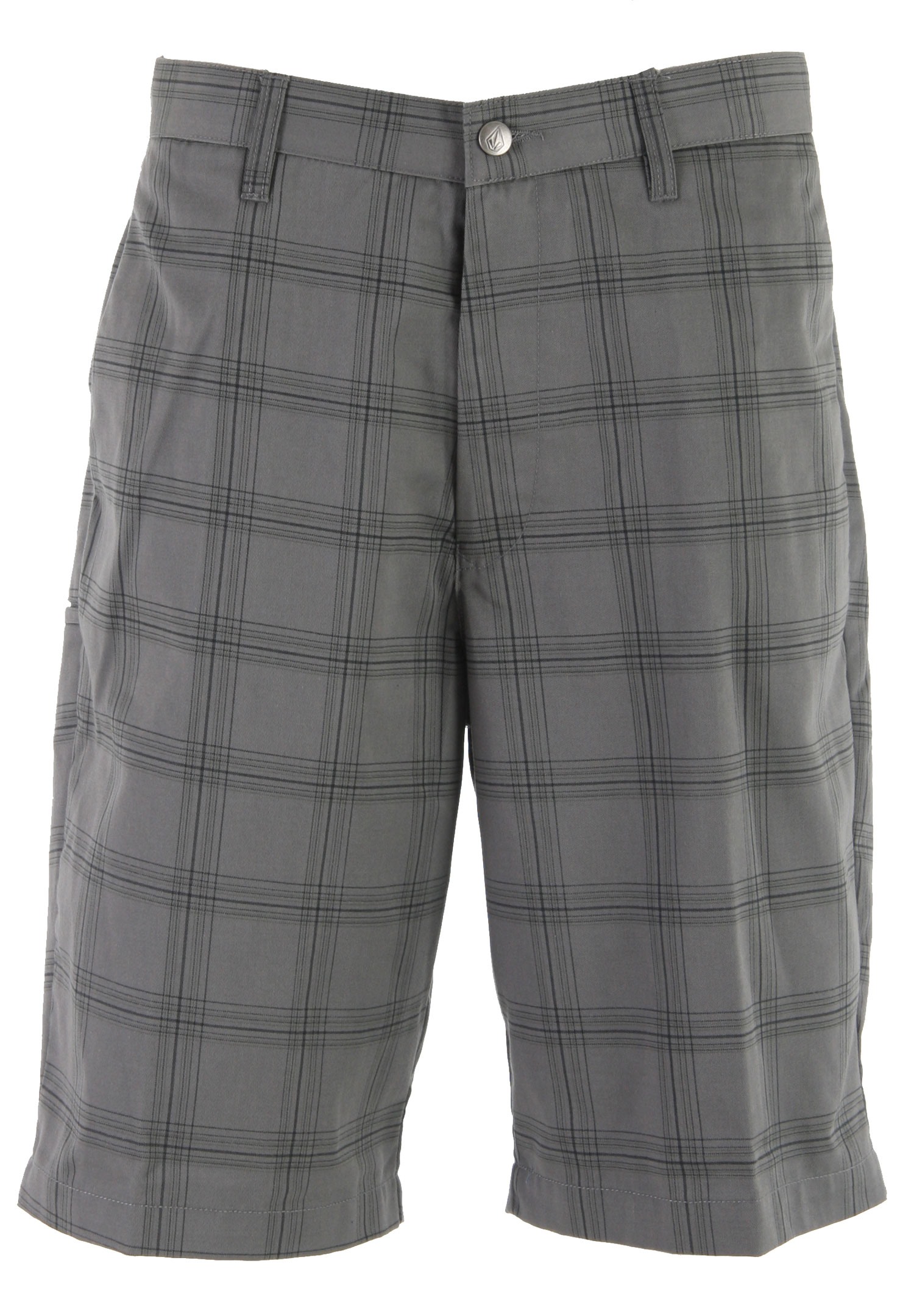 "Surf Add this classic statement piece to your wardrobe. The Volcom Frickin Plaid Chino Shorts features a plaid design, and a loose fit. Made with cotton and polyester, these shorts are ultra soft and super comfortable. Perfect for casual wear, sport these shorts with your favorite polo shirt and you're set to hit the town in style.Key Features of the Volcom Frickin Plaid Chino Shorts: 22"" Outseam Relaxed fit chino short Garment wash w/ softener 65% Polyester/35% Cotton Twill - $44.95"