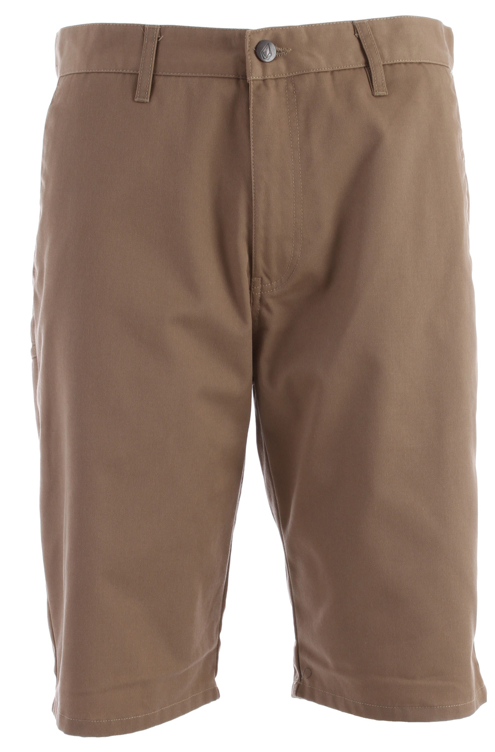 "Surf Key Features of the Volcom Frickin Modern Shorts: 22"" Outseam Relaxed fit chino short Pre laundered Rigid twill 65% Polyester / 35% Cotton twill - $45.00"