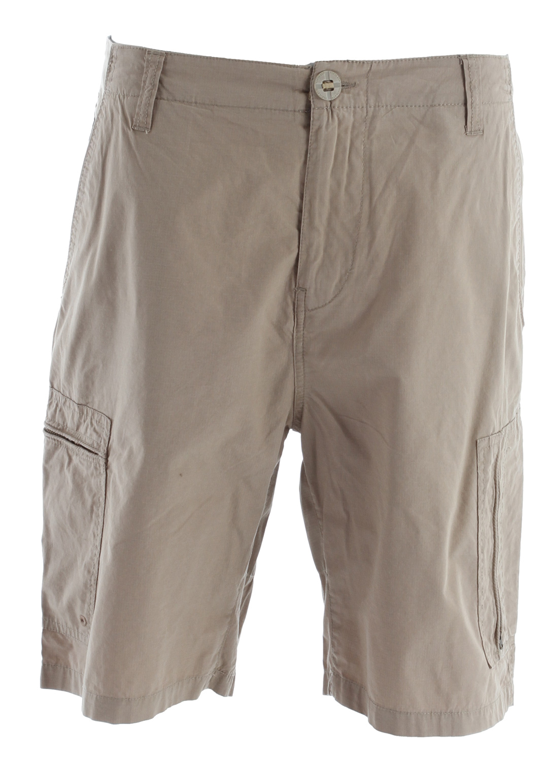 "Surf Key Features of the Volcom Vega Cargo Shorts: 21"" Outseem Relaxed fit cargo short Pre-laundered 100% cotton ripstop Scout collection - $37.95"