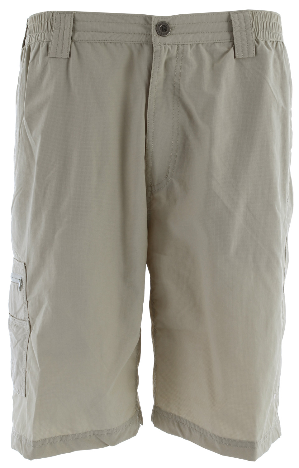 "Camp and Hike Go on the ultimate backpacking adventure while wearing these shorts. They pack easily into your bag, dry quickly after a wade in the water, and have multiple pockets to store snacks, gear, and other necessities.Key Features of the White Sierra Grizzly Trail Shorts: 100% nylon rip stop woven UPF 30 Quick dry Comfort fit side elastic Zip secure thigh pocket Gusseted crotch Inseam: 10"" - $24.95"