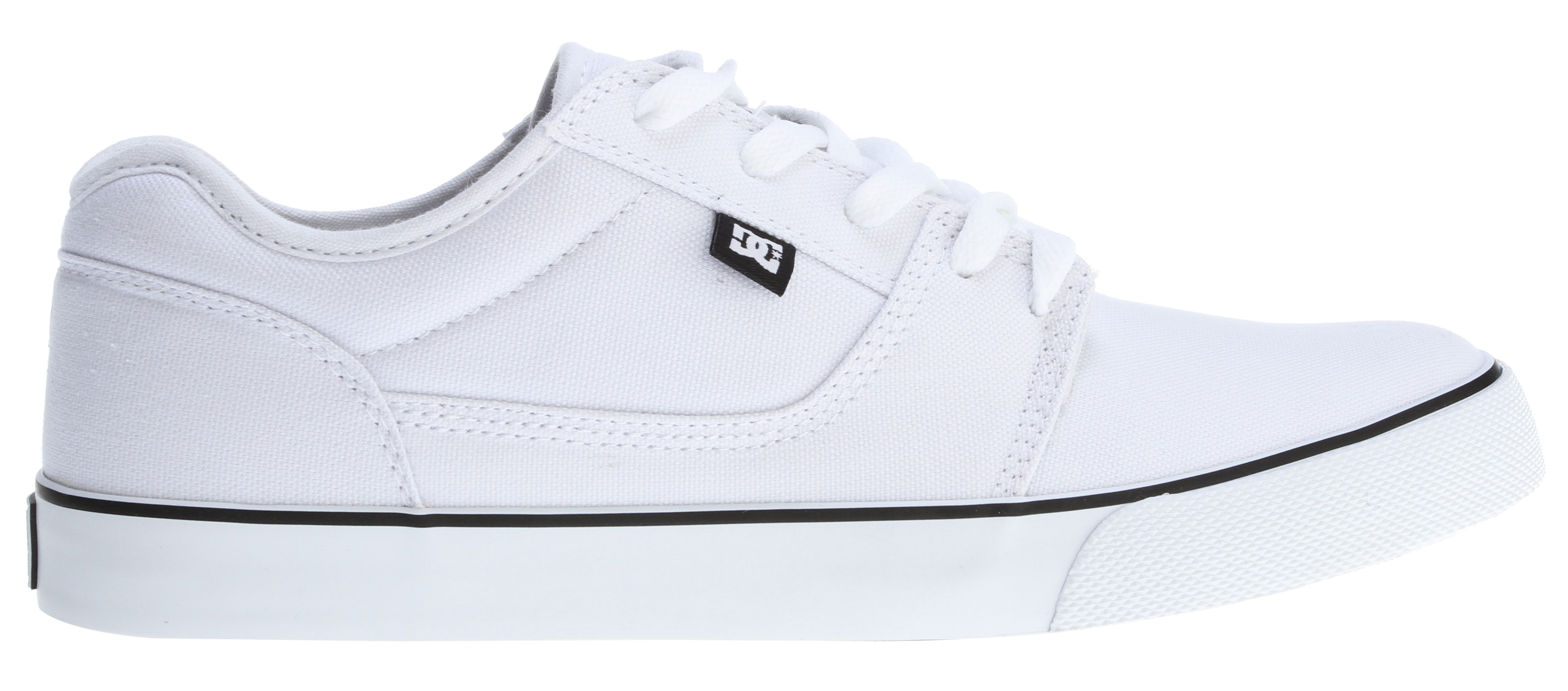 "Skateboard Key Features of the DC Bristol TX Skate Shoes: Textile Upper Vent Holes In Upper For Breathability Vulcanized Construction For Great Board Feel And Sole Flex Abrasion- Resistant Sticky Rubber Outsole DC's Trademarked ""Pill Pattern"" Bottom. - $38.95"