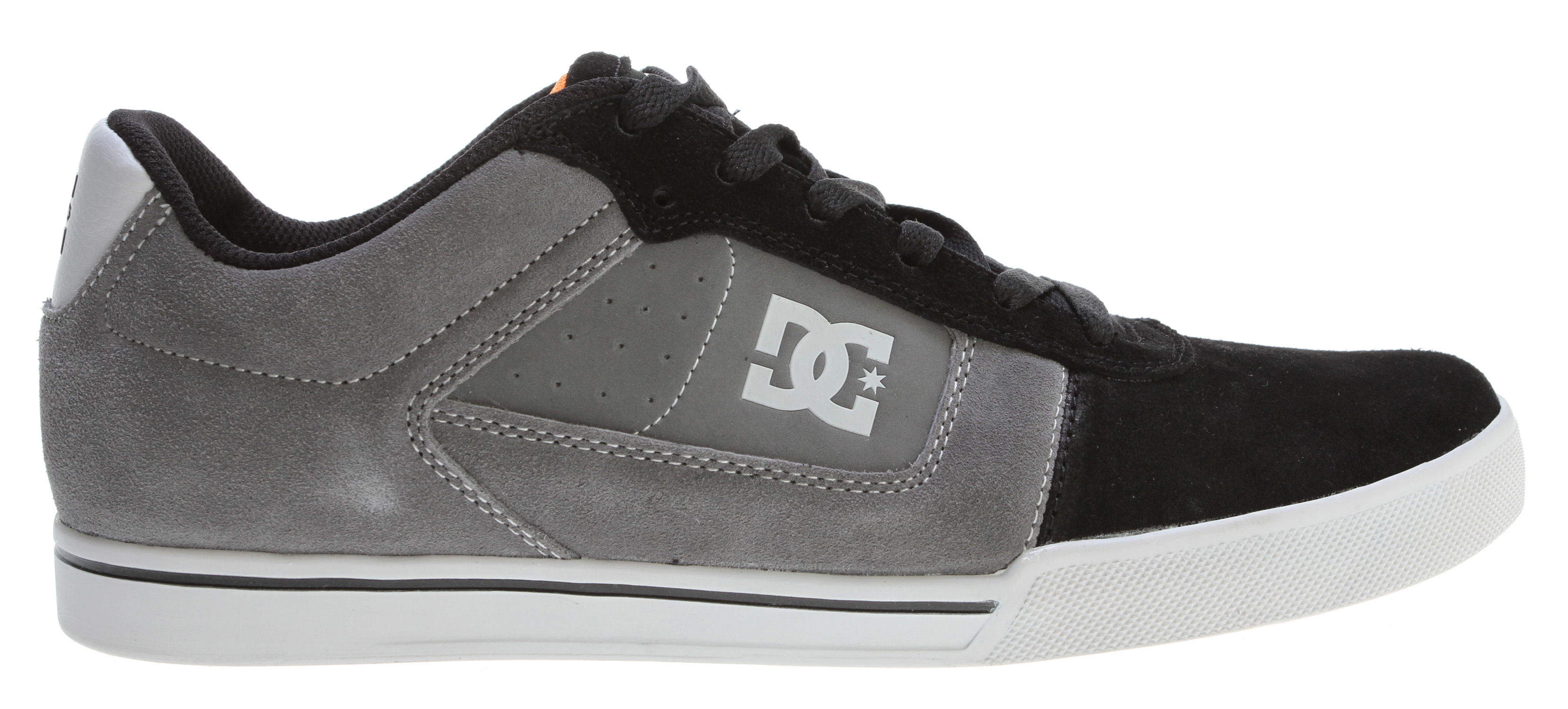 Skateboard Designed by Chris ColeKey Features of the DC Cole Pro Skate Shoes: Clean toe with a classic skate style outsole with cup sole support Hf weld logo Heavy duty suede upper Vent holes in upper for increased airflow Foam padded tongue for added comfort and support Isolated collar foam for heel lock DC's performance cup sole Abrasion-resistant sticky rubber outsole Unique designed multifunctional tread pattern for durability and grip - $45.95