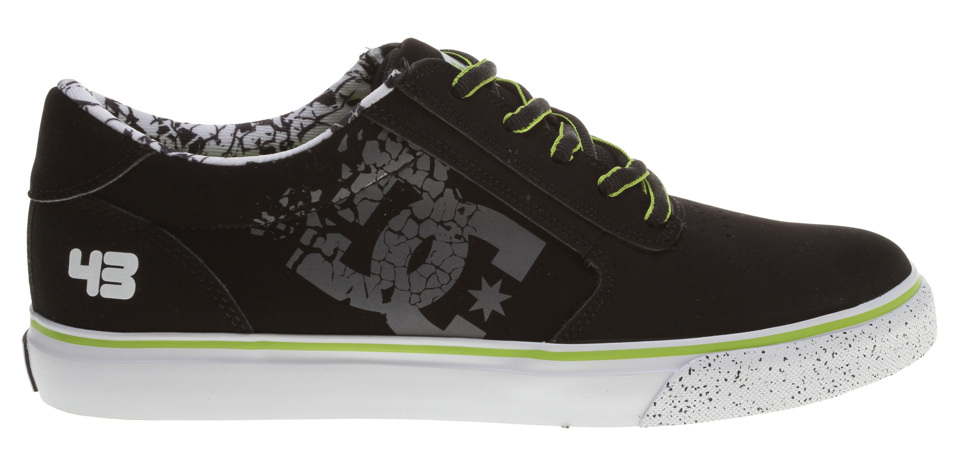 Skateboard Skate like the pros in the DC Shoes Gatsby 2 skate shoes from the Ken Block Collection.Key Features of the DC Ken Block Gatsby 2 Skate Shoes: Heavy duty suede upper Soft resilient action leather Eyelets on medial side Metal eyelets and lace locks Foam padded tongue and collar Innovative DGT rubber bottom design for enhanced board control, feel, and durability - $45.95