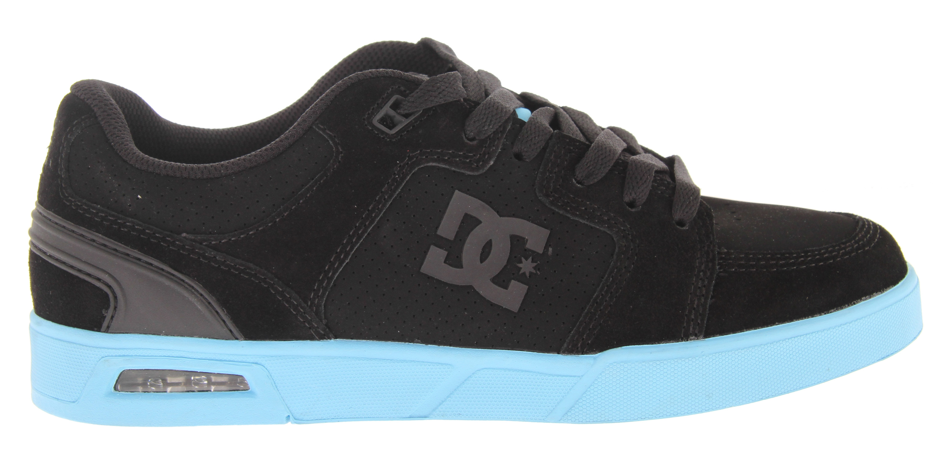 Skateboard Key Features of the DC Monty Skate Shoes: Clean cupsole construction with visible heel airbag Traditional skate paneling in the upper Foam padded tongue and collar for added comfort Molded heel counter for support and style - $35.96