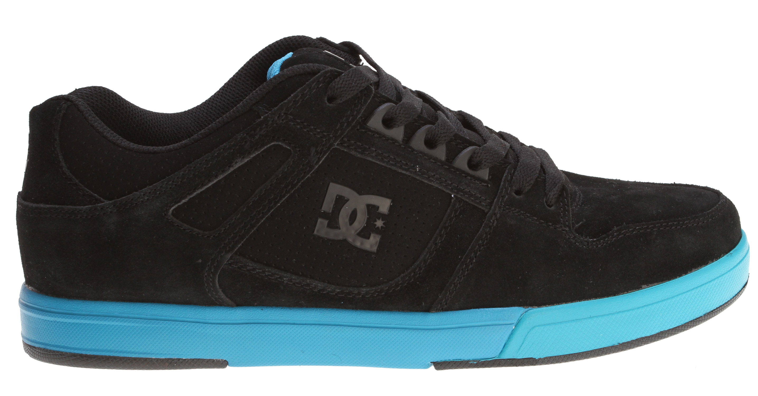 "Skateboard Taking inspiration from DC's archive, the Spartan Lit has performance skate lines and features DC's Revolutionary Unilite technology.Key Features of the DC Spartan Lite Skate Shoes:  Foam padded tongue and collar for added comfort and support  TPU Eyerow for reinforcement  Strategically placed rubber on the outsole for long-lasting durability  DC's trademarked ""Pill Pattern"" bottom - $41.95"