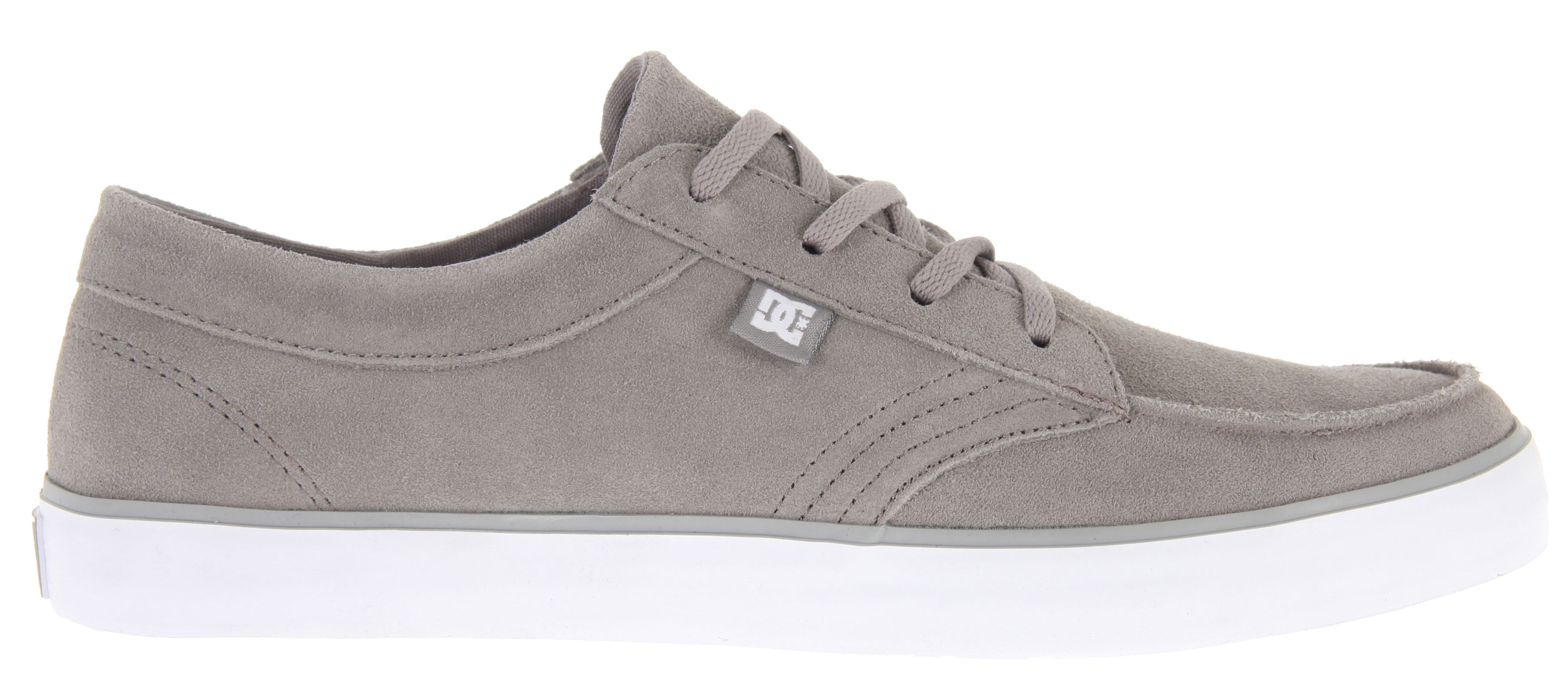 Skateboard Key Features of the DC Standard Skate Shoes: Vulcanized construction Suede upper DC's pill pattern outsole - $35.95