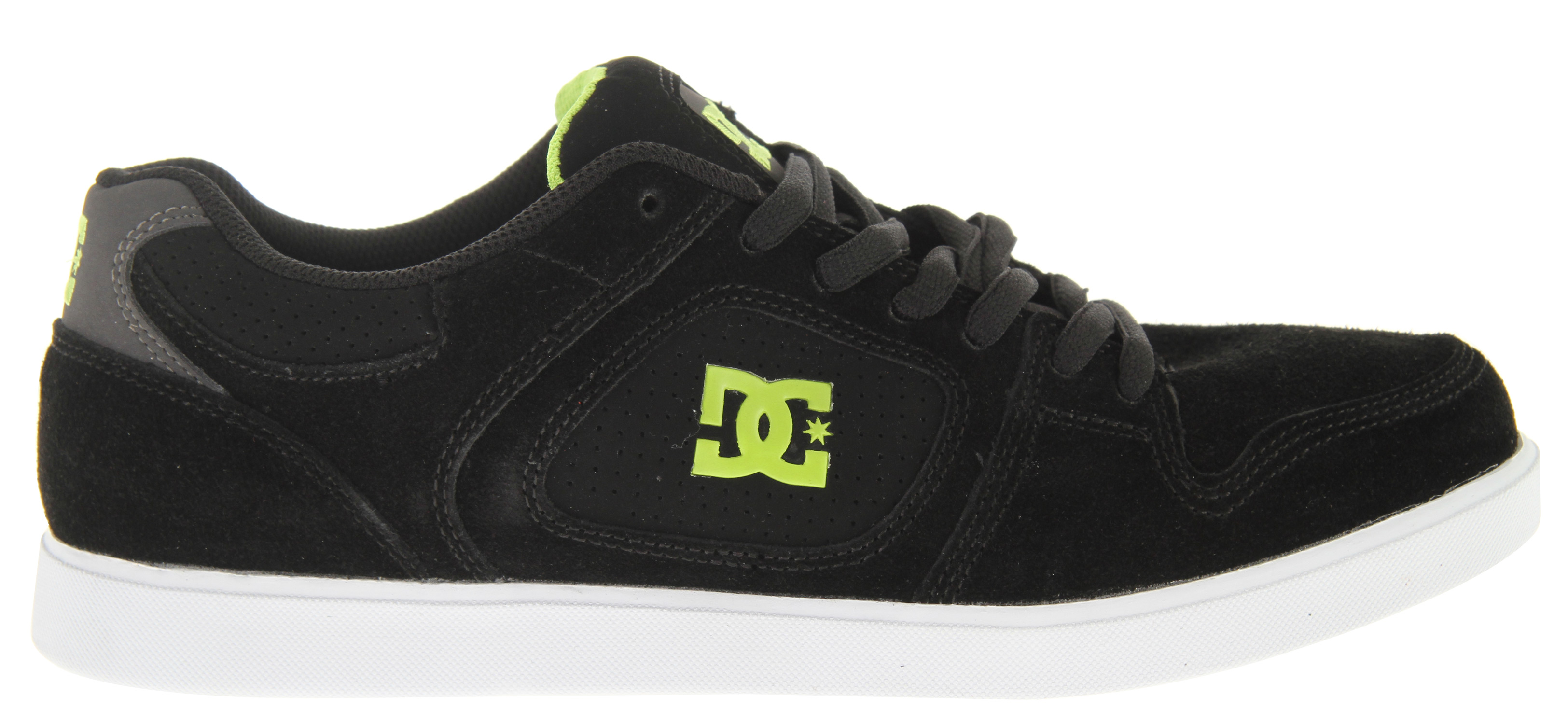 Skateboard Key Features of the DC Union Skate Shoes: Super Suede Soft cushiony sole Sticky outsole - $38.95