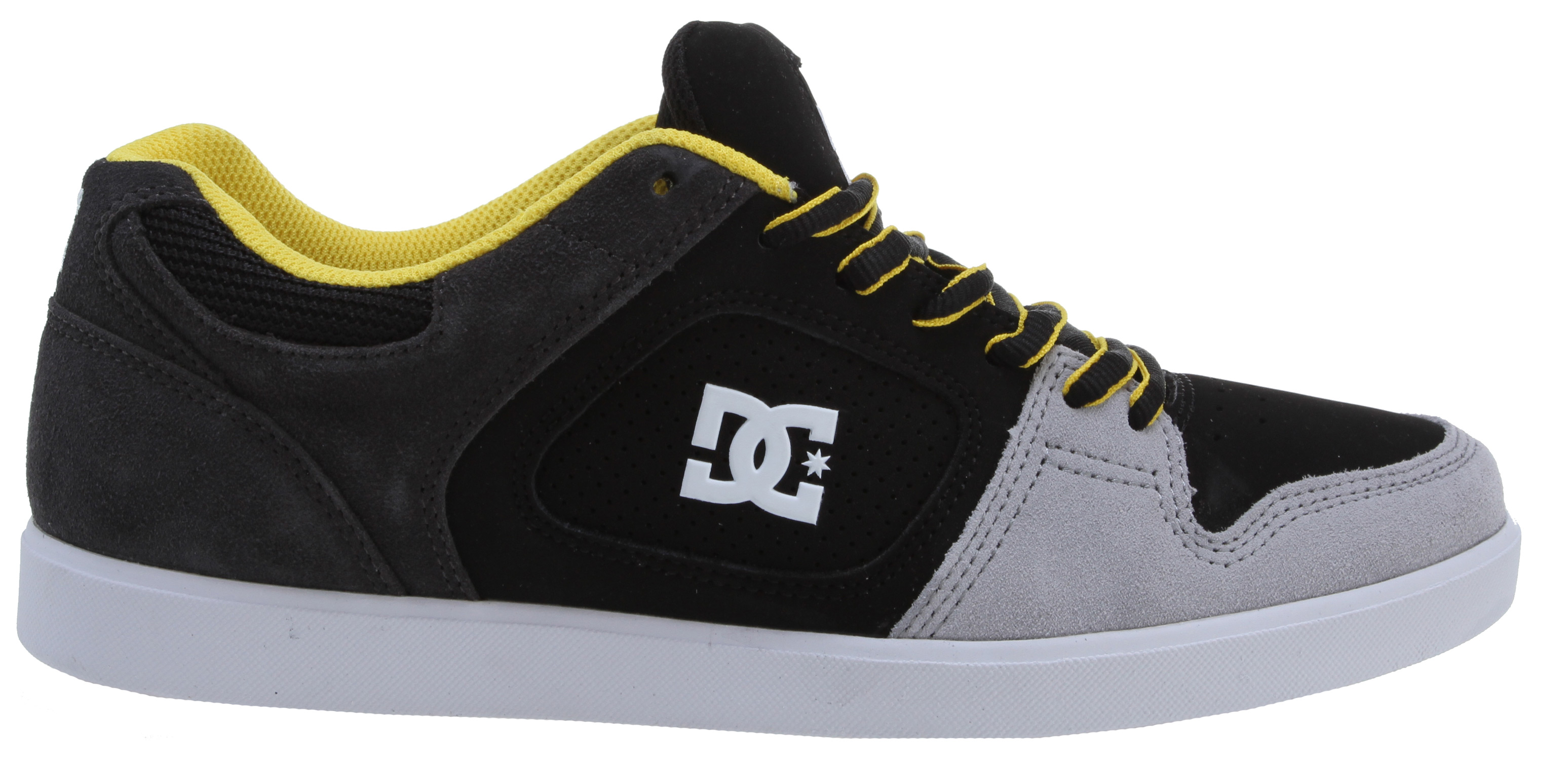 Skateboard The Union is built from durable suede, nubuck, or leather, and features a foam-padded tongue and heel collar for comfort and support. Vent holes allow maximum airflow, while the performance cup sole features abrasion-resistant sticky rubber on its outer edges. The tread boasts a classic herringbone pattern.Key Features of the DC Union Shoes: Durable Suede, Nubuck Or Leather Upper Foam Padded Tongue And Collar For Comfort And Support Vent Holes For Breathability Performance Cup Sole Abrasion-Resistant Sticky Rubber Outsole Classic Herringbone Tread - $29.95