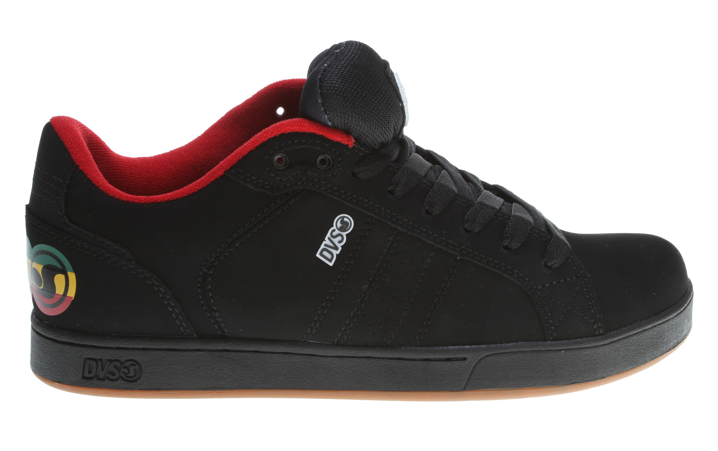 Skateboard Key Features of the DVS Charge Skate Shoes: Welded TPR logo detail 3-D embroidered tongue logo TPU blind eyelets Non-slip dual tread outsole design Sure-fit elastic tongue support Bruise control technology-ultra - $45.95