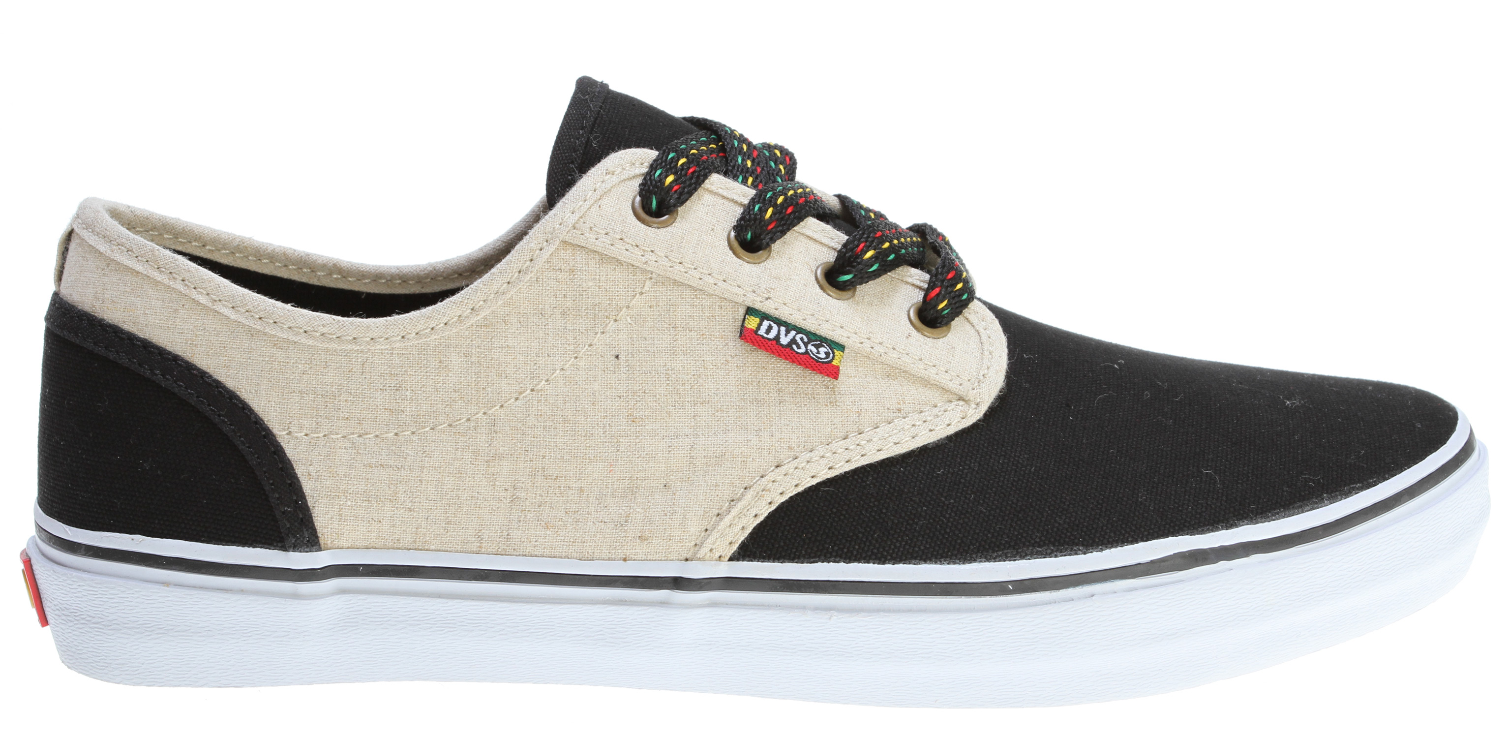 Skateboard Key Features of the DVS Rico Ct Skate Shoes: Textile binding One piece toe vamp Vulcanized outsole - $35.95