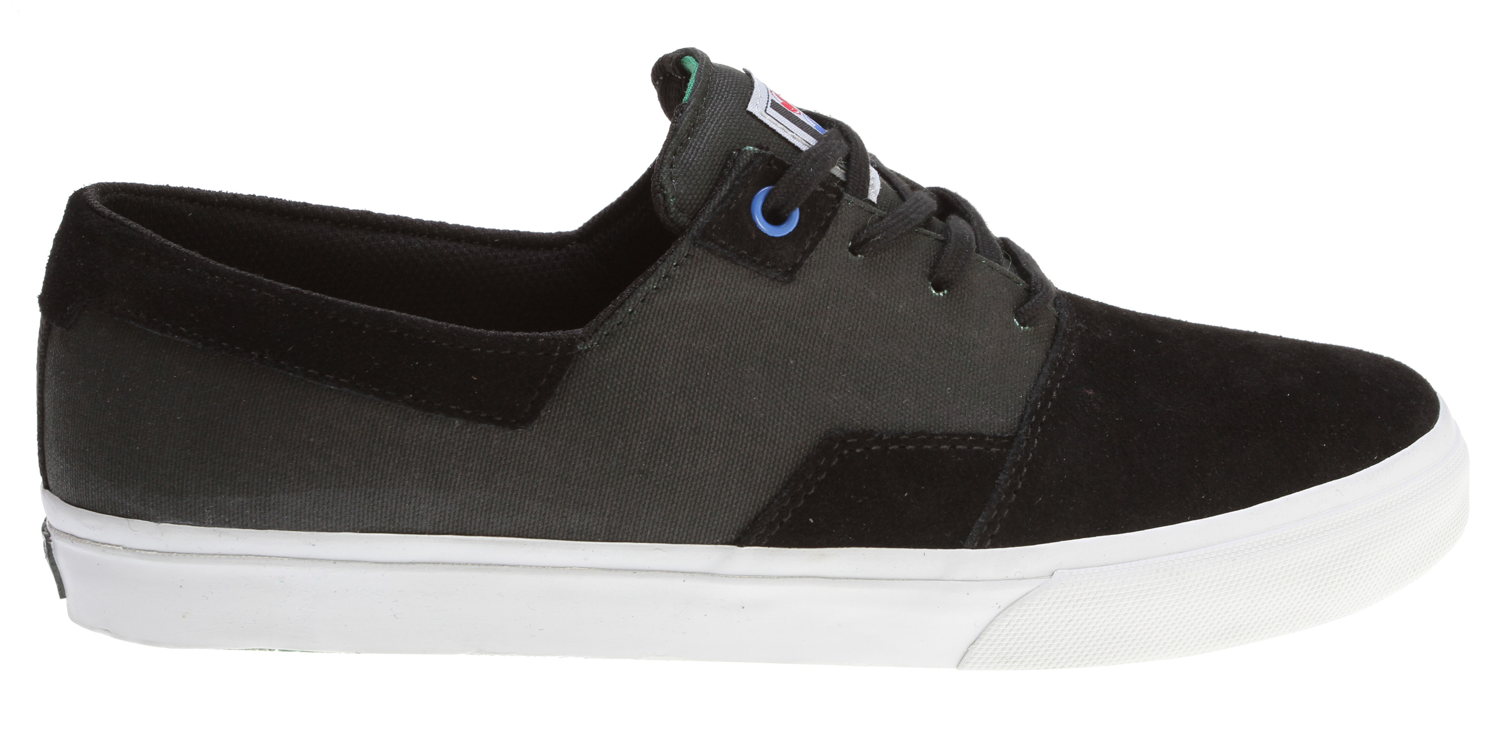 Skateboard Key Features of the DVS Torey 2 Skate Shoes: Suede/Canvas upper material Custom cotton laces Custom artwork Molded EVA footbed Non-slip Vulcanized outsole Highly flexible lasting board - $44.95