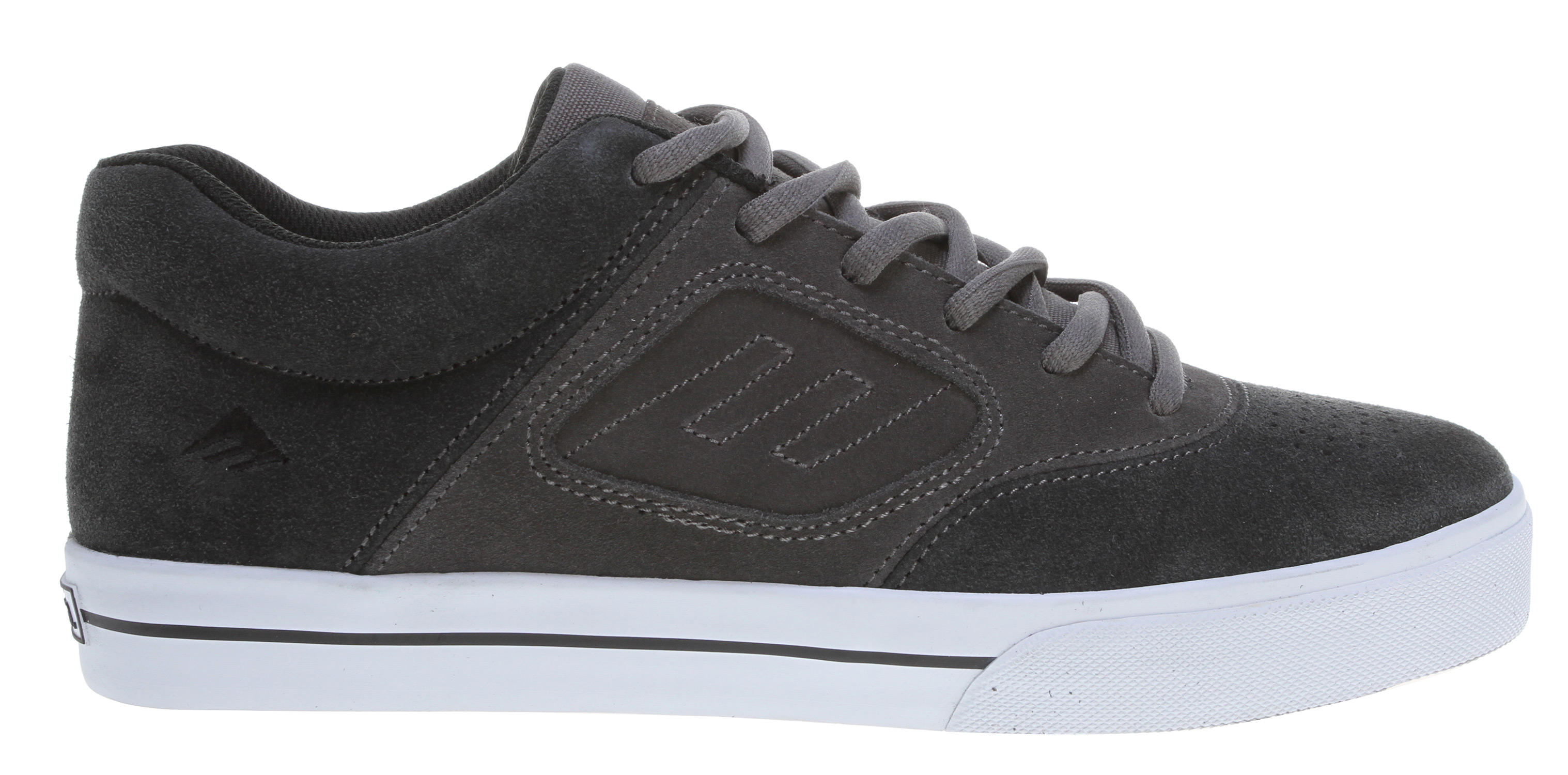 Skateboard Key Features of the Emerica Reynolds 3 Skate Shoes: Designed by Andrew Reynolds Suede and canvas uppers STI Foam Pro 1 footbed - $44.95