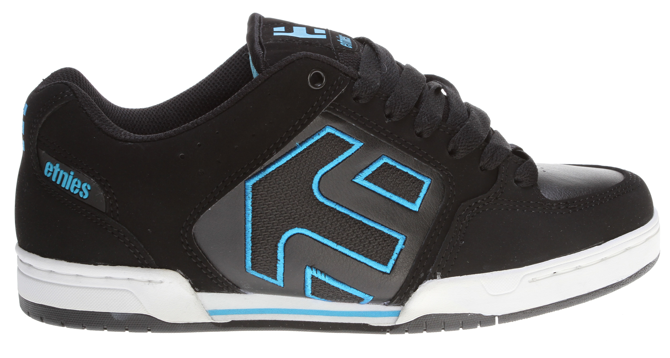 Skateboard Key Features of the Etnies Charter Skate Shoes: Trademark etnies Arrow logo integrated into heel area Padded tongue and collar STI Foam Lite level 1 footbed New 300 NBS double cup rubber outsole with exposed EVA midsole - $48.95