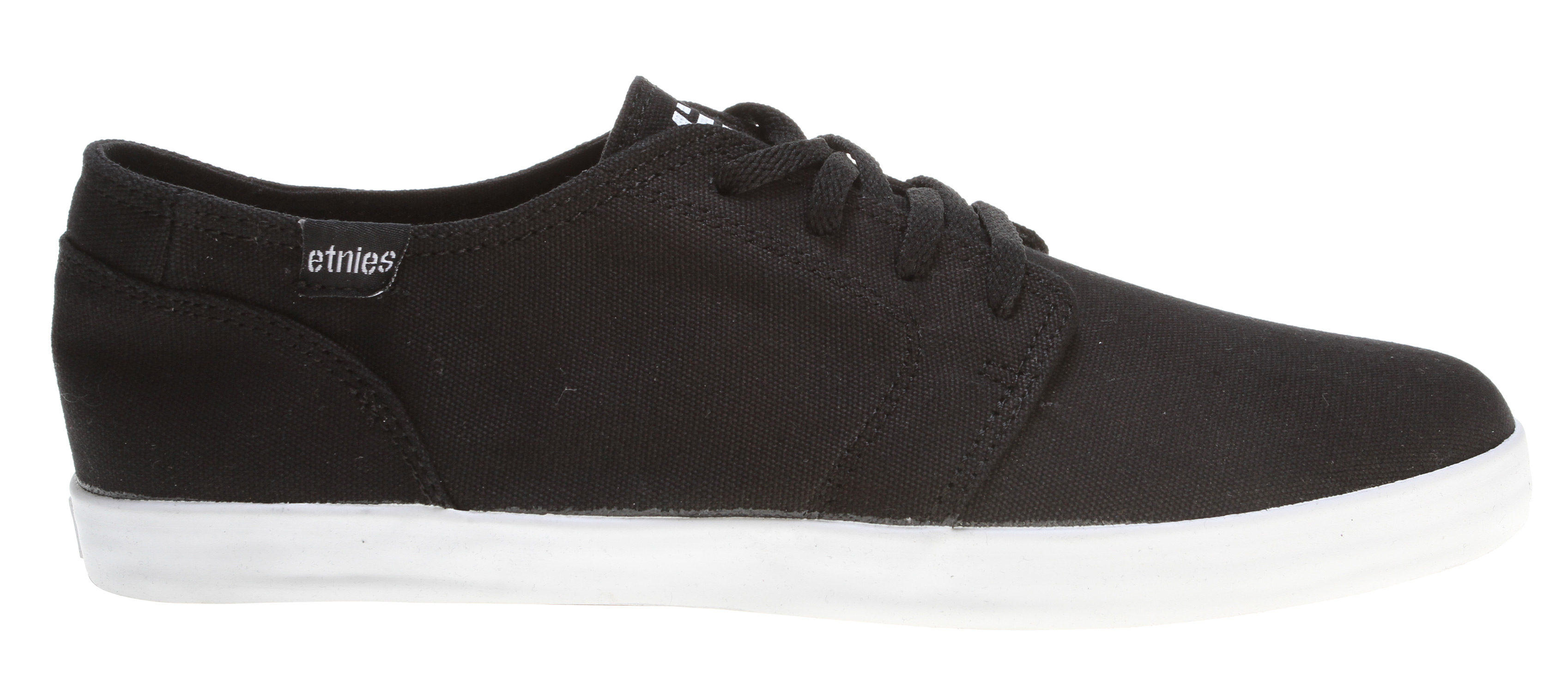 Skateboard Key Features of the Etnies Lurker Vulc H Skate Shoes: Classic style low top Natural or recycled upper materials Soft diecut EVA footbed Rubber outsole - $30.95