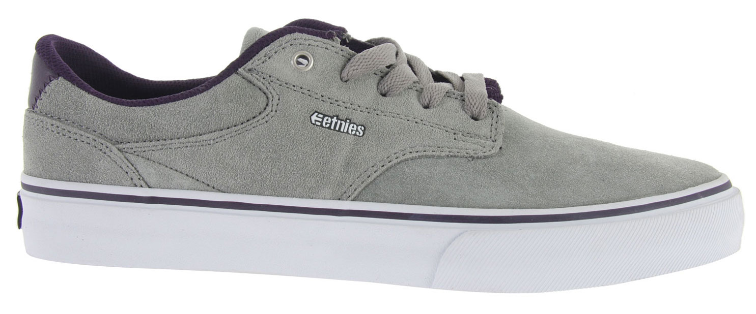 Skateboard Key Features of the Etnies Malto LS Skate Shoes: Designed and tested by Sean Malto Triple stitch toe cap Classic vulcanized construction Lower hidden lace loops Padded tongue and collar STI DTTF Pro 1 footbed for increased comfort and cushioning - $38.95