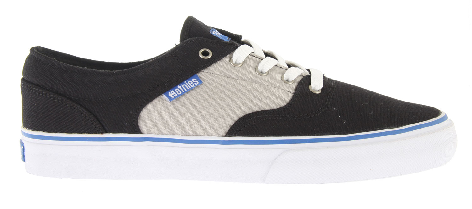 Skateboard Key Features of the Etnies Taylor LS Skate Shoes: Designed by Mikey Taylor Deconstructed styling Vulcanized construction Thinly padded tongue and collar STI DTTF Pro 1 footbed 400 NBS rubber outsole and internal EVA midsole - $35.95