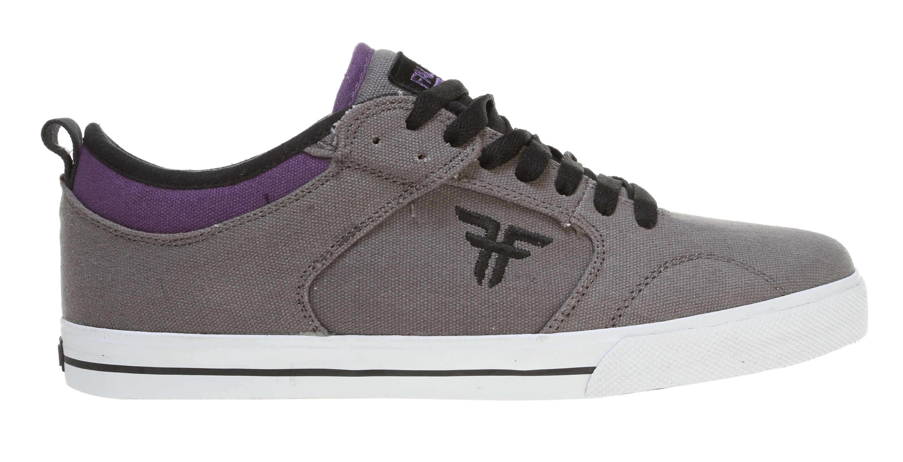 Skateboard Key Features of the Fallen Clipper Skate Shoes: Genuine heavy duty suede upper Asymmetric stabilizer for medial upper support Lightly foam-padded collar and tongue for comfort and support Vulcanized sole construction EVA insole to absorb impact and provide cushioning Highly abrasion-resistant outsole for wear and durability - $59.95