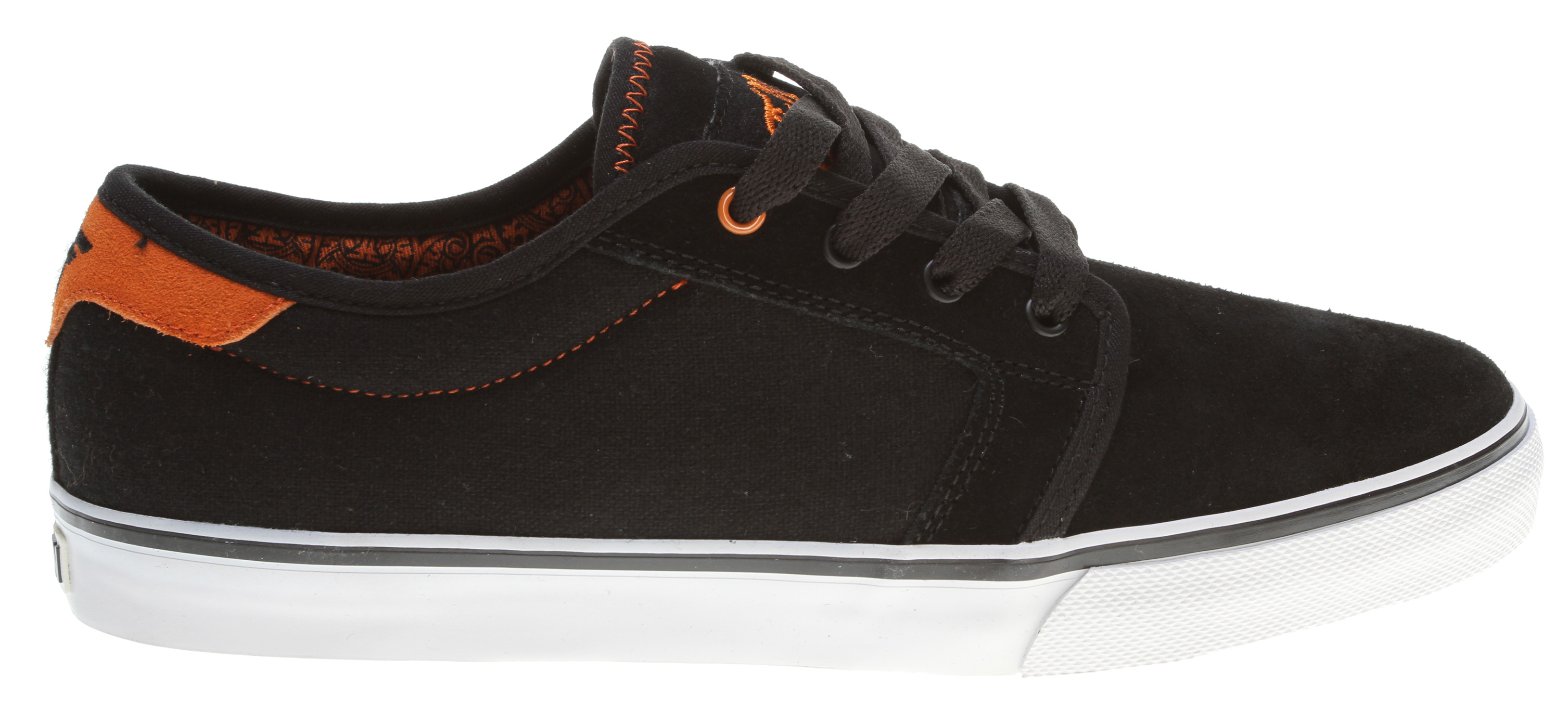 Skateboard This Jamie Thomas signature model is the perfect combination of skate durability and casual elegance. The Fallen Forte has become a proven staple in skateboard footwear.Key Features of the Fallen Forte Skate Shoes: Genuine heavy duty suede and/or canvas upper Select models features synthetic suede or premium materials Lightly foam-padded collar and tongue for comfort and support Vulcanized sole construction EVA insole to absorb impact and provide cushioning - $39.95