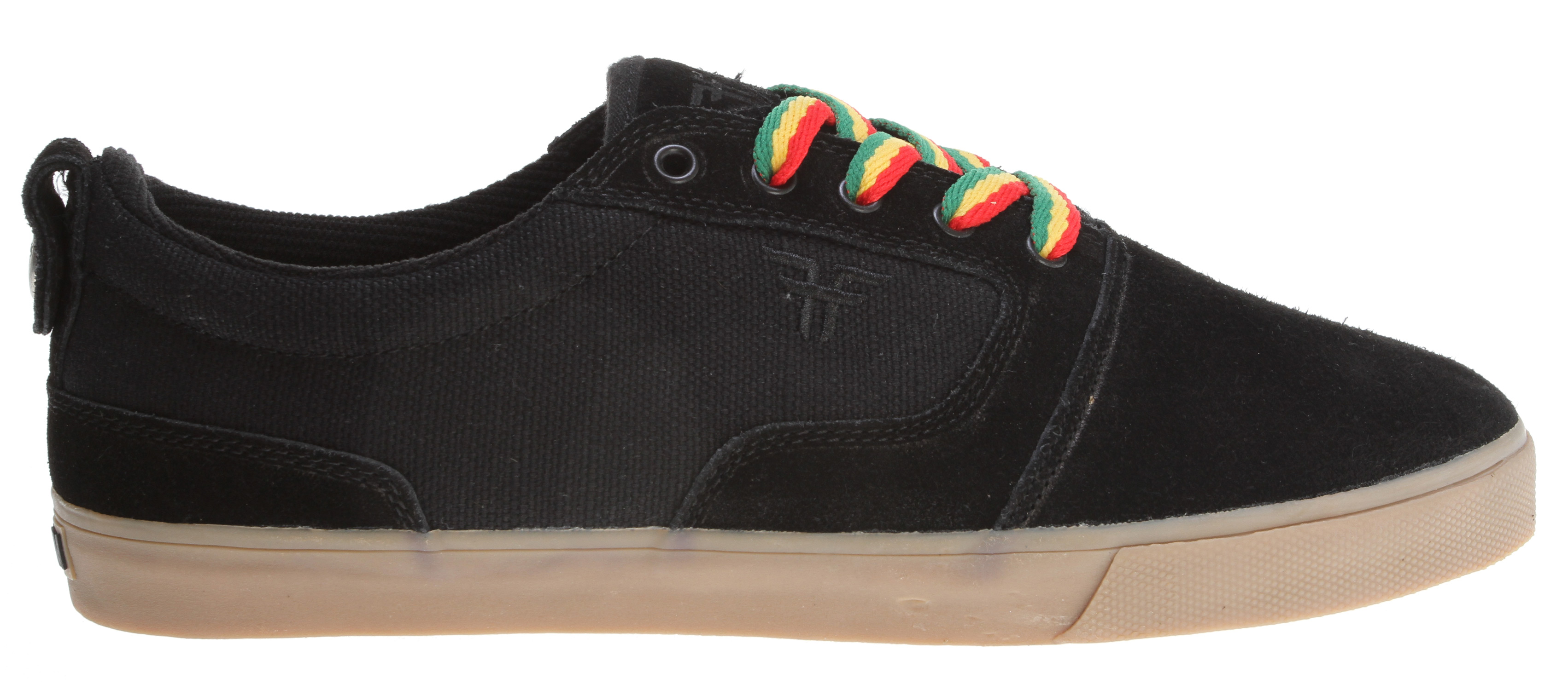 Skateboard With some similarities in styling to Tommy's previous shoe, the Coronado, the Kingston has a more traditional skate silhouette with additional panels for protection and lateral support.Key Features of the Fallen Kingston Skate Shoes: Low-profile vulcanized construction with a highly abrasion resistant outsole Form fitting EVA insole for comfort upper is made from heavy-duty canvas/hemp and/or suede/leather Uniquely designed tow and vamp construction that helps the upper keep it's shape and prevent blowouts Comfortable and functional shoe with a traditional aesthetic, the Kingston is sure to become a classic - $41.95