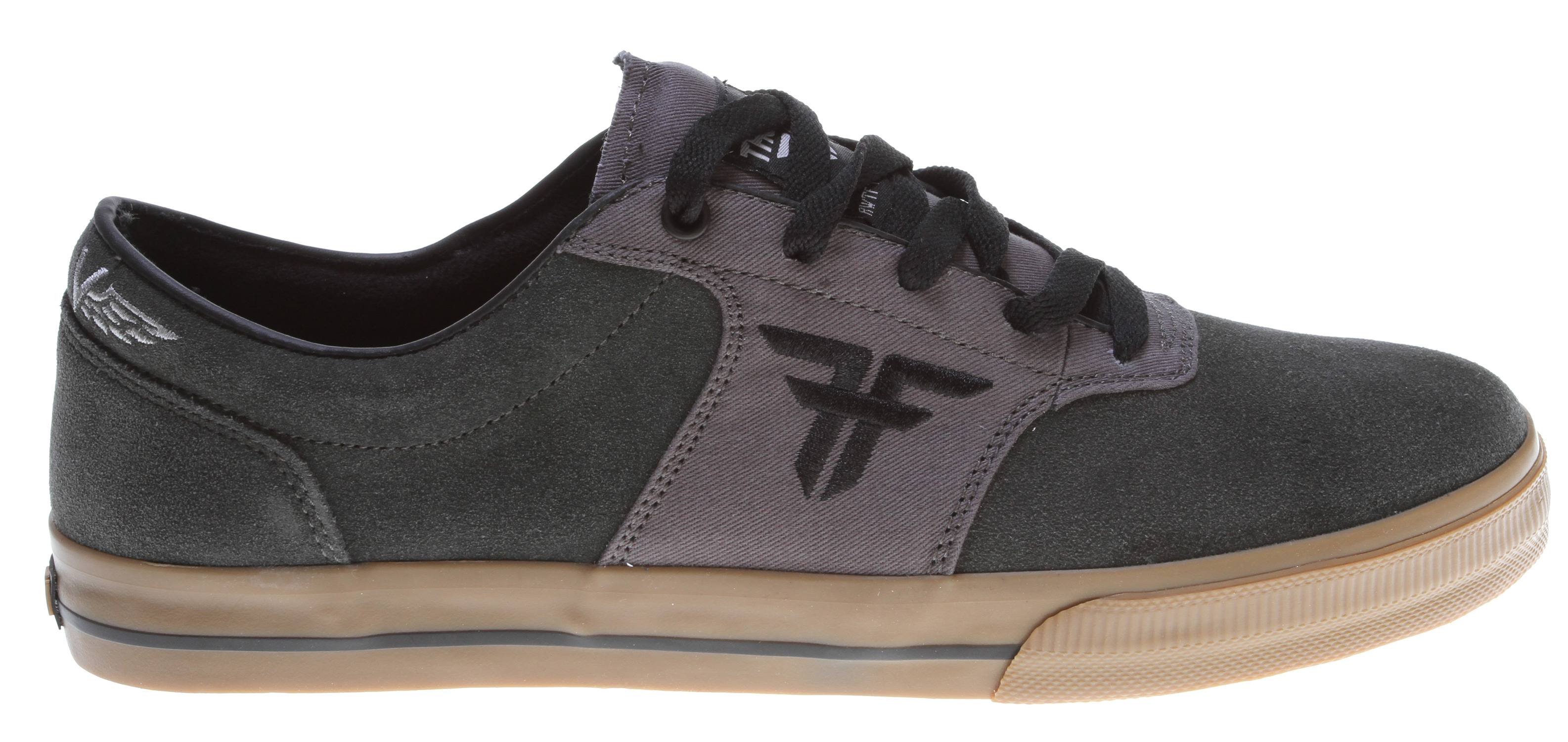 Skateboard The Fallen Victory is the slimmest silhouette of all the Thomas signature models. With unique yet simplistic lines, this shoe is an instant classic.Key Features of the Fallen Victory Skate Shoes: Genuine heavy duty suede and/or canvas upper Select models features premium materials Slim profile w/ non-padded tongue & minimally padded collar for comfort and support Vulcanized sole construction EVA insole to absorb impact and provide cushioning - $59.95