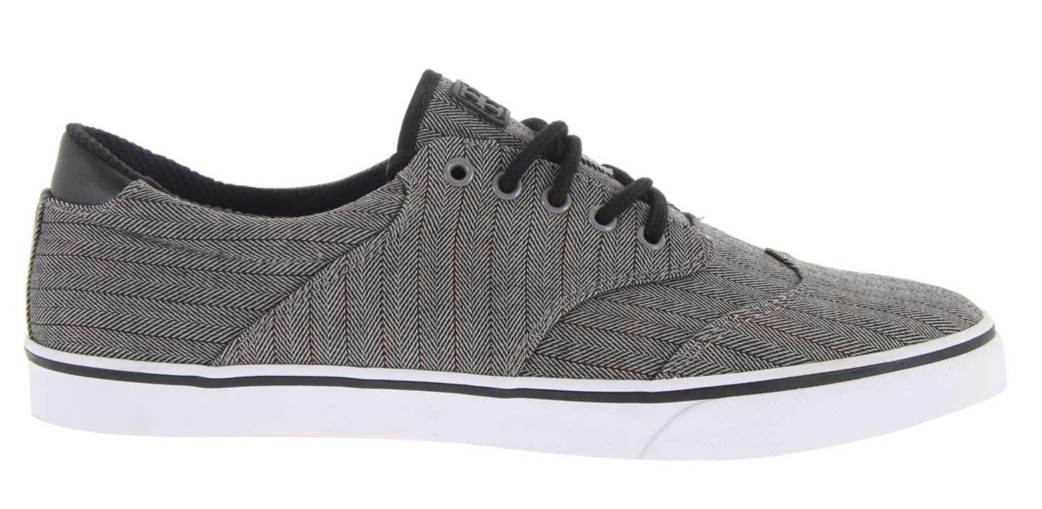 Skateboard Key Features of the Gravis Filter Wingtip Skate Shoes: Suede Lather And Canvas Upper Vulcanized Construction With Poron Cloud 9 Pu Footbed Comfort Mesh Lining High Traction Rubber Outsole - $37.95