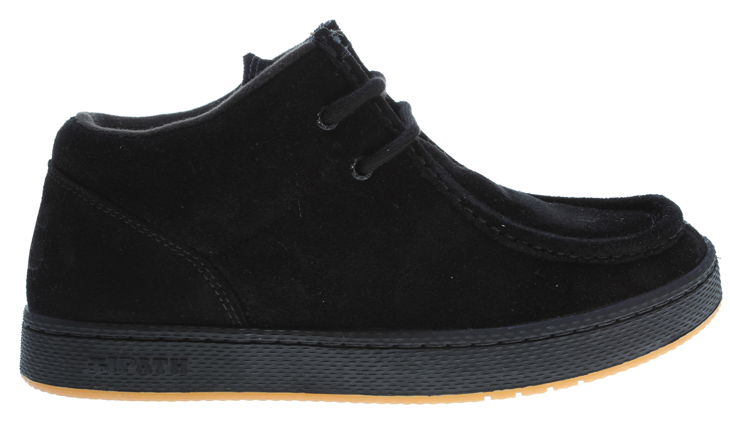 Skateboard The Ipath Cats Skate Shoes Shoe is a classic, true piece of IPATH'S heritage. They pulled out all the stops for this cult classic and made versions in high end black leather with sherpa lining and a brown nubuck. - $48.95