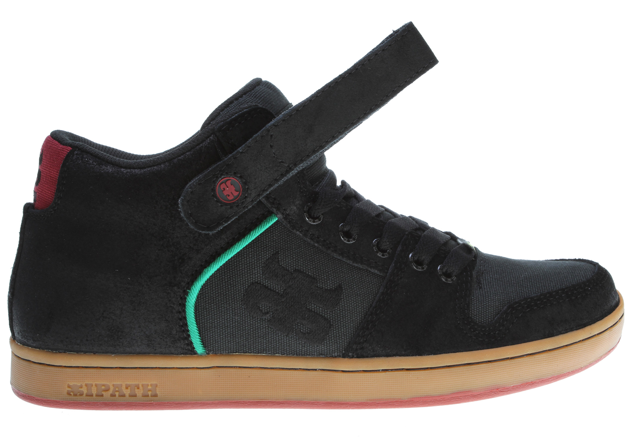 Skateboard The Grasshopper, an Ipath original, is a true skate staple. Classic lines, on a basic cupsole with a strap for extra ankle support, this shoe has it all. Complete with refined, slimmer upper proportions and a thinner outsole, the Grasshopper is ready for anything. - $55.95