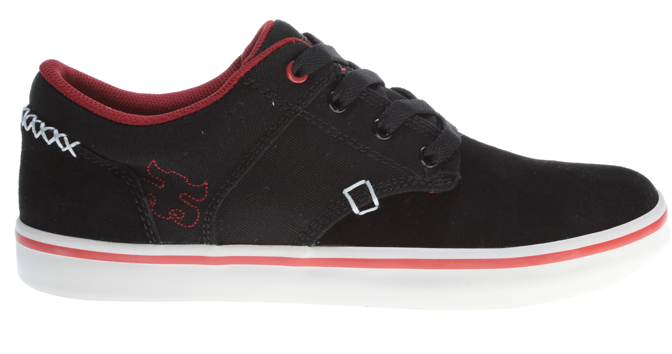 Skateboard Inspired by Kenny Reed, this classic vulc skate shoe features a clean suede toe, reinforced ollie area and Reed's iconic cross stitch detail around the heel. - $48.95