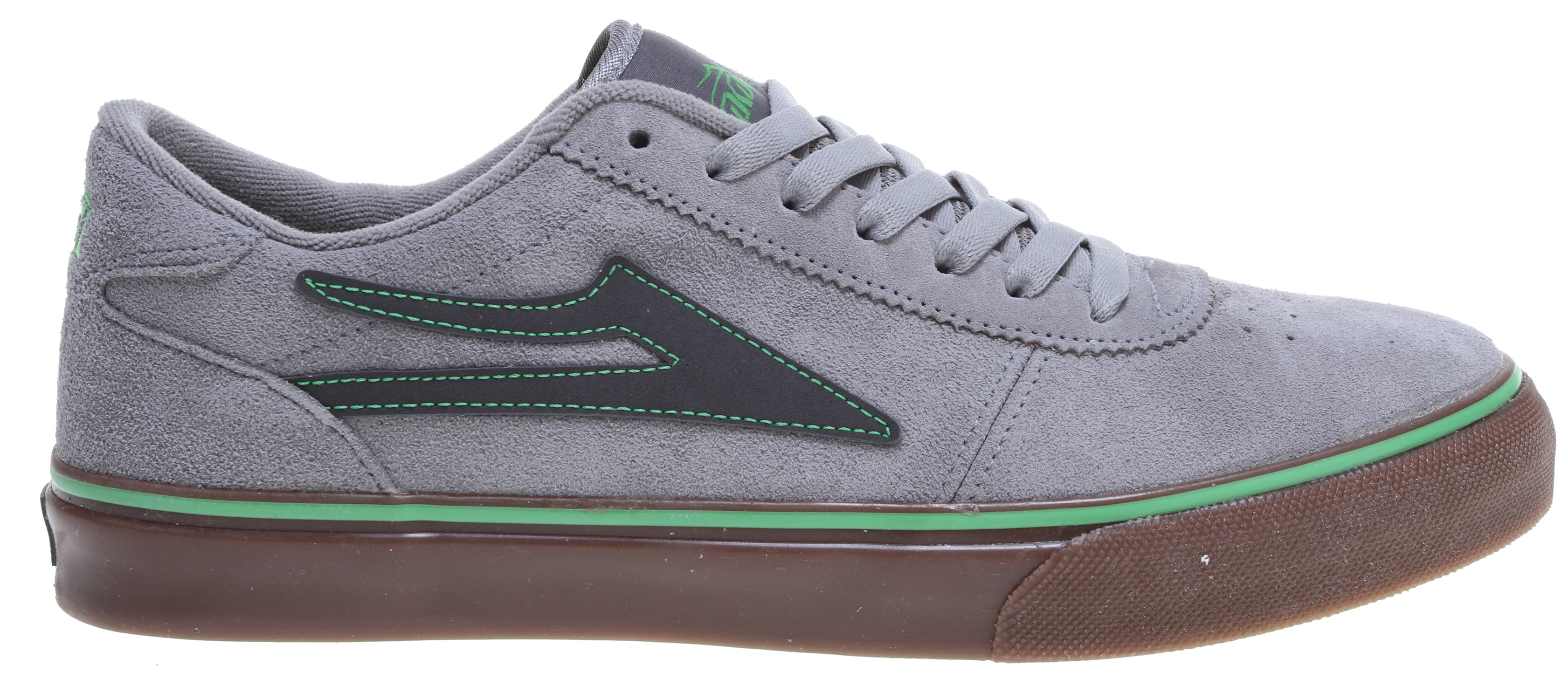 Skateboard Key features of the Lakai Manchester Skate Shoes: Flexible vulcanized construction Tacky gum rubber outsole Durable suede or nubuck upper Full-length shock absorbing insole Form fitting upper for increased board feel - $39.95