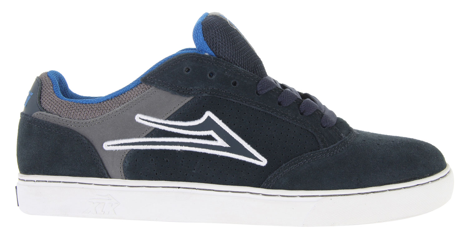 Skateboard The Suede Lakai Mike Mo Skate Shoes are a fantastic pair a shoes for skaters of all levels. They offer an extremely comfortable fit and a very smooth suede finish. They also have a soft and padded rubber outsole to improve your ability to grip onto any sort of board. The Suede Lakai Mike Mo Skate Shoes provide the sleek, modern and stylish design that will surely turn heads. They are a spectacular purchase for anyone looking for a good pair of skating shoes!Key Features of the Lakai Mike Mo Skate Shoes: New Xlk Cupsole Construction With Engineered High-Flex Tread Pattern Eva Midsole And Equa-Form Cushioning For Comfort And Light Weight New High-End Lakai Pu Insole For Supreme Cushioning & Energy Rebounding Soft & Tacky Gum Rubber Outsole Form-Fitting Upper For Increased Board Feel Durable Suede Upper Designed And Tested By Mike Mo Capaldi - $46.95