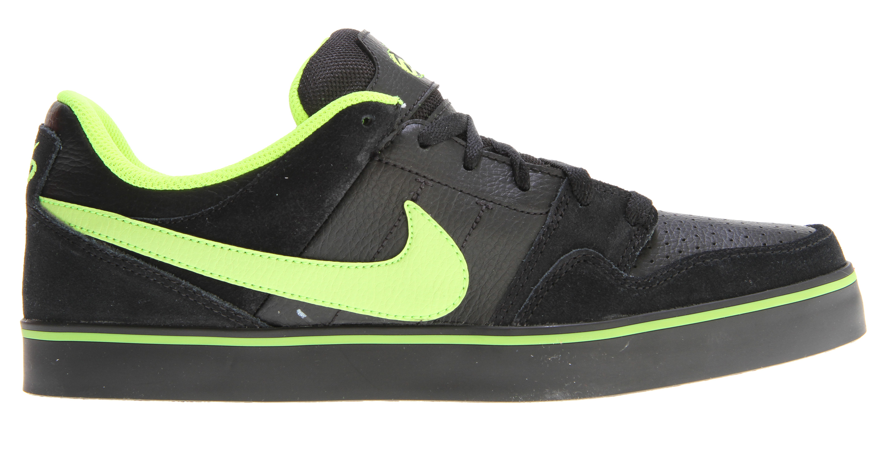 Skateboard Key Features of the Nike Mogan 2 SE Skate Shoes: UPPER: Suede, leather and Nubuck materials. Increased layers for durability. MIDSOLE: Phylon midsole with encapsulated Air-Sole unit for great comfort and cushioning. OUTSOLE: Rubber outsole for durability and grip. - $49.95