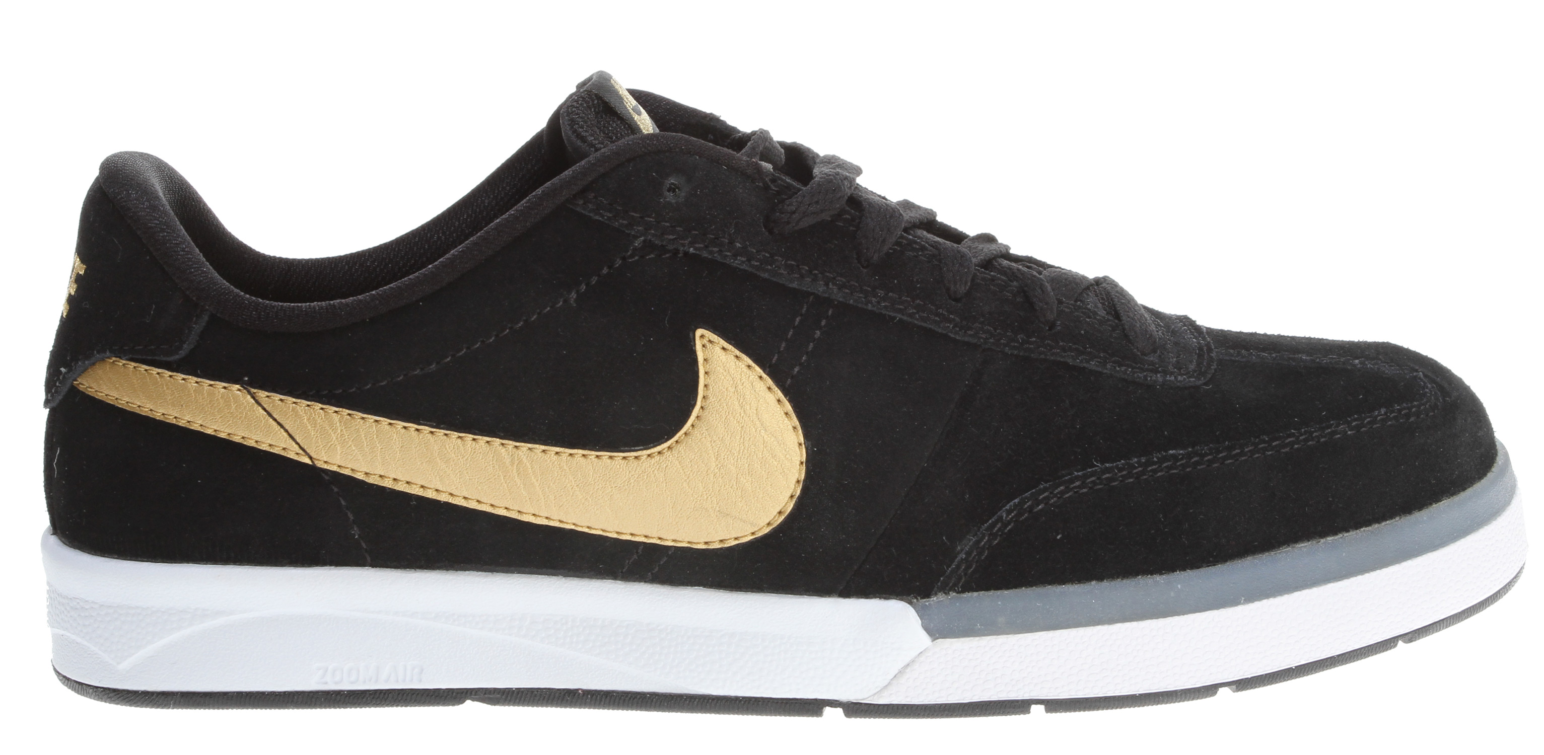 Skateboard Key Features of the Nike Zoom Fc X Fp Shoes: UPPER: Suede/leather/Nubuck upper provides durability and protection OUTSOLE: Rubber outsole for great durability Great design for flexibility and board control MIDSOLE: Nike Zoom unit Soccer inspired skateboard style. - $55.95