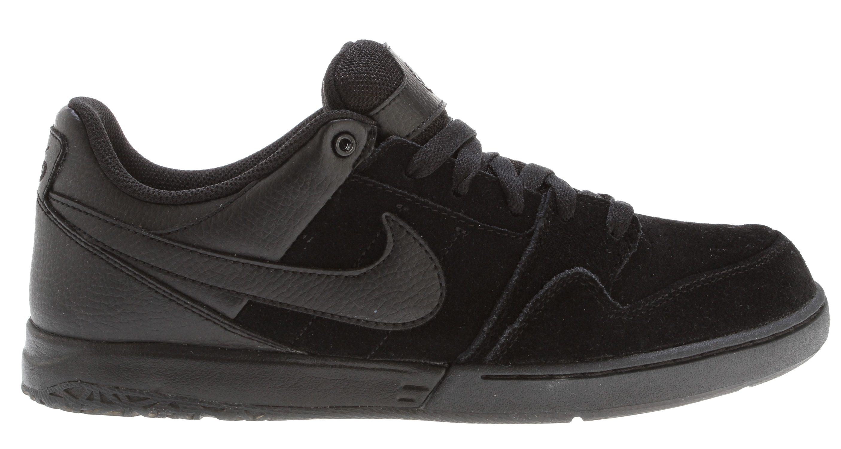 Skateboard Key Features of the Nike Zoom Mogan 2 Skate Shoes: Great update to Mogan franchise with better board feel and comfort. Midsole: Nike Zoom unit in heel for low to the ground comfort and impact absorption. Upper: Suede, leather and Nubuck materials. Increased layers for durability and collar/tongue foam for comfort. Outsole: Decreased rubber in key areas to provide better flexibility and decrease weight. - $52.95