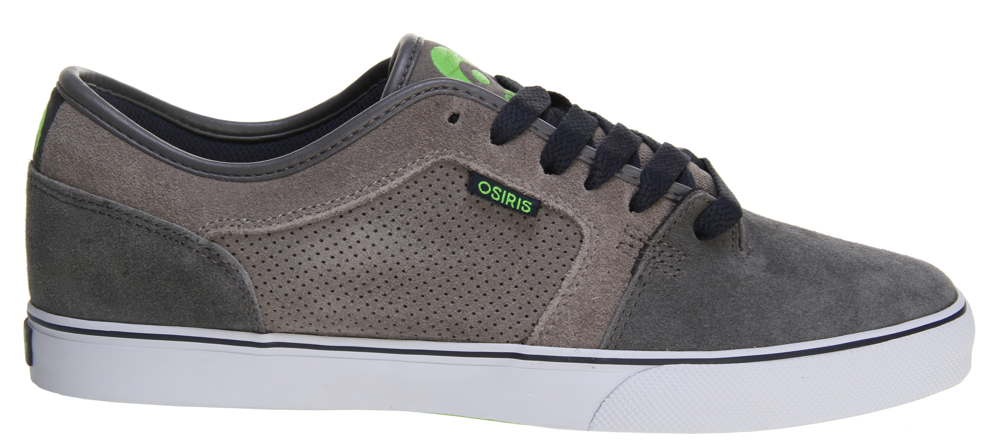 Skateboard Key Features of the Osiris Decay Skate Shoes: NOTE: THIS SHOE RUNS A HALF SIZE BIG. FOR EXAMPLE, IF YOU WEAR A SIZE 9, PLEASE ORDER A SIZE 8.5. vulcanized sole construction featuring an EVA drop in midsole with traditional vulc wrap for maximum support and comfort soft molded EVA insole with full latex covering for added durability and improved fit abrasion-resistant rubber outsole for wear, durability, and ideal performance classic skate styling with reinforced high abrasion areas for superior durability light-weight padded tongue and collar for added comfort and support combination lacing system for added protection and styling - $31.95