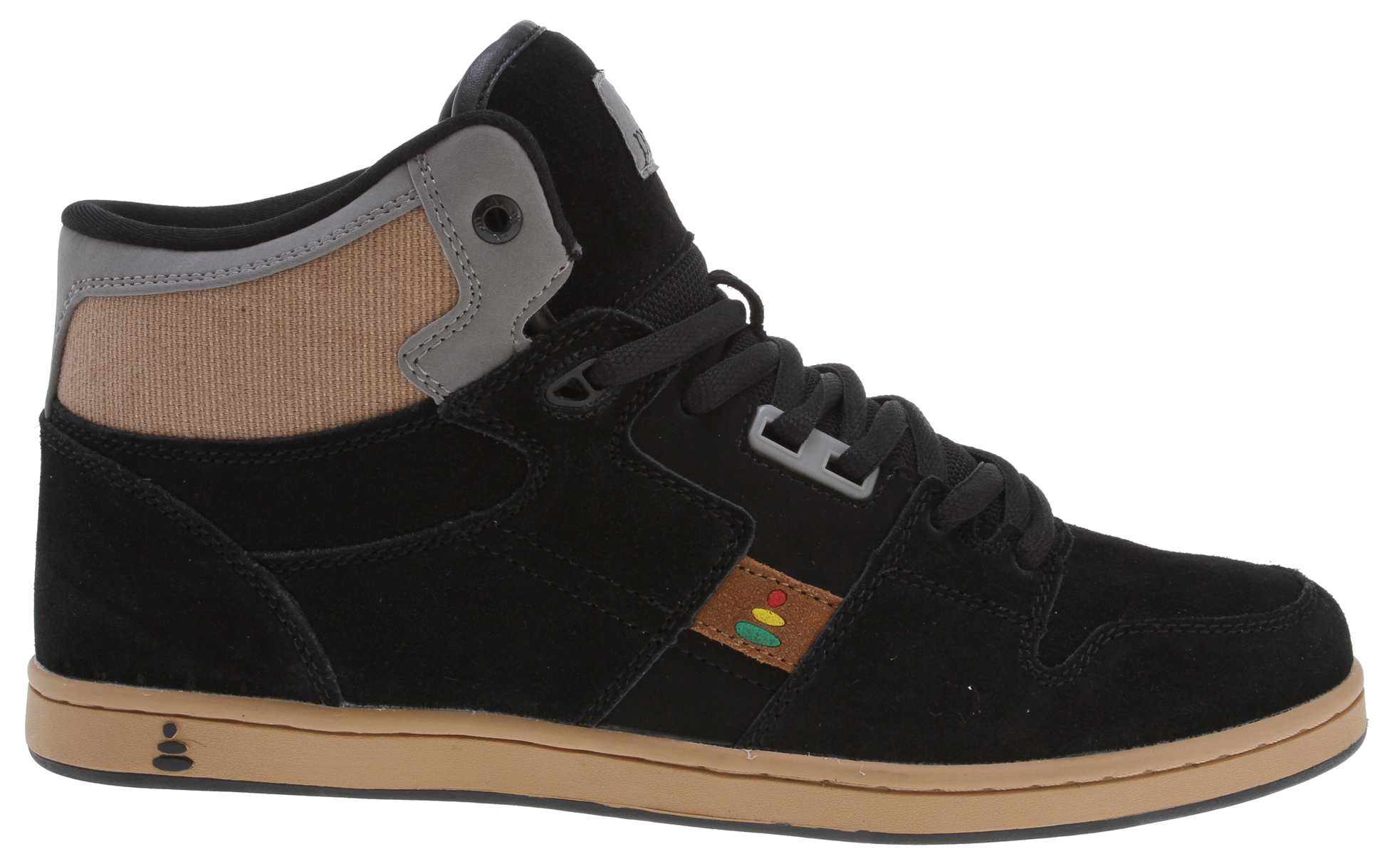Skateboard Praxis is youthful lifestyle footwear dedicated to the essence of skateboarding. Praxis Footwear is action guided by purpose, and they believe in this for their company and their lives. Praxis promotes a product and outlook that preserves freedom of expression and lifestyle, if that sounds like your cup of tea then drink up.Key Features of the Praxis Freestyle Skate Shoes Tan Suede/Hemp:  Synthetic upper  Synthetic lining  Rubber sole - $36.95