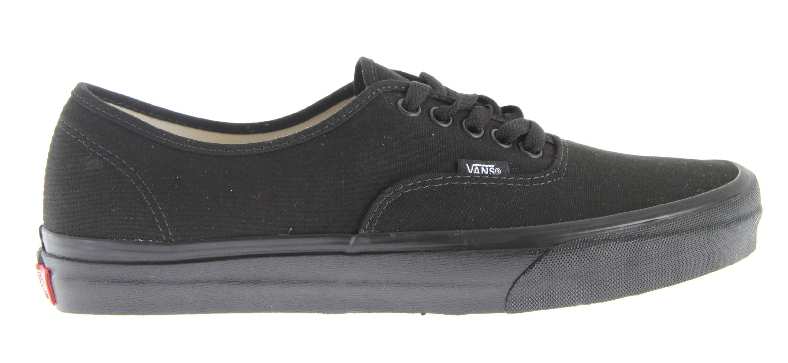Skateboard The Authentic, Vans original and now iconic style, is a simple low top, lace-up with durable canvas upper, metal eyelets, Vans flag label and Vans original Waffle Outsole* Low top, lace-up * Durable canvas upper * Metal eyelets * Vans flag label * Vans original Waffle Outsole - $50.00