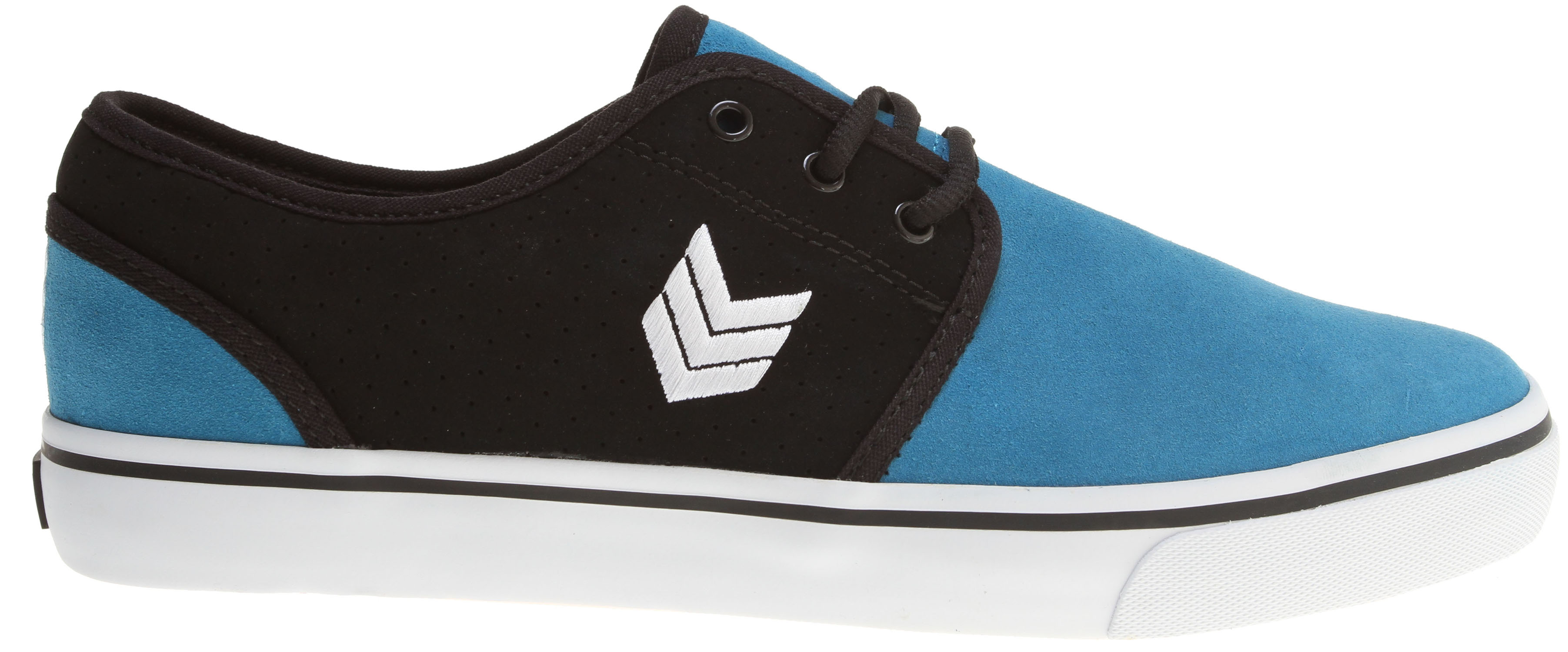 Skateboard Key Features of the Vox Slacker Skate Shoes: Vulcanized Construction Side Panel Eyestays Suede And Synthetic Upper Vox I.R.S. Gel System Gum Rubber Outsole - $24.95