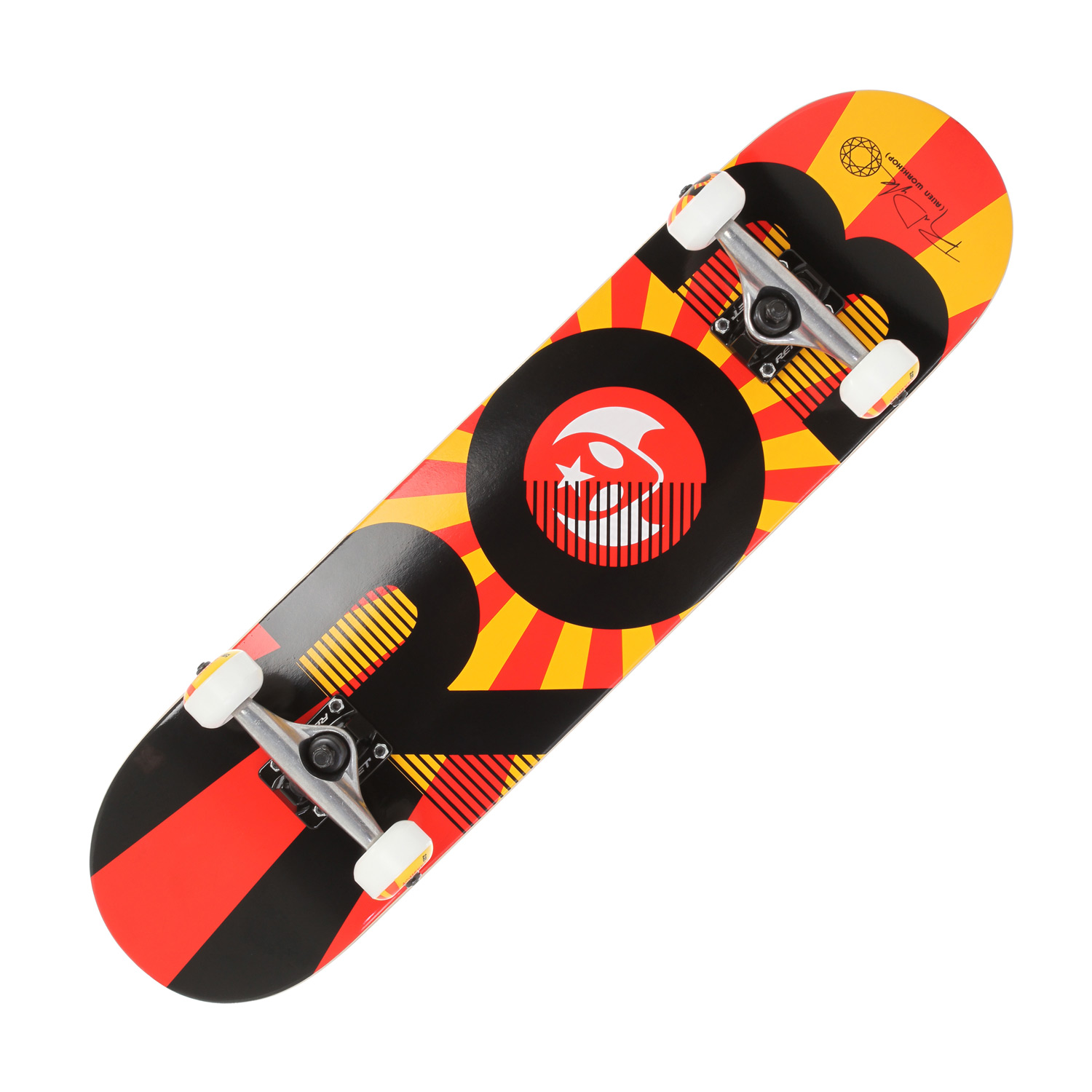 "Skateboard The ability to skate like Mr. Dyrdek is not included. Key Features of the Alien Workshop Dyrdek Rising Skateboard Complete: Complete: 31"" long x 7.75"" wide. - $109.95"