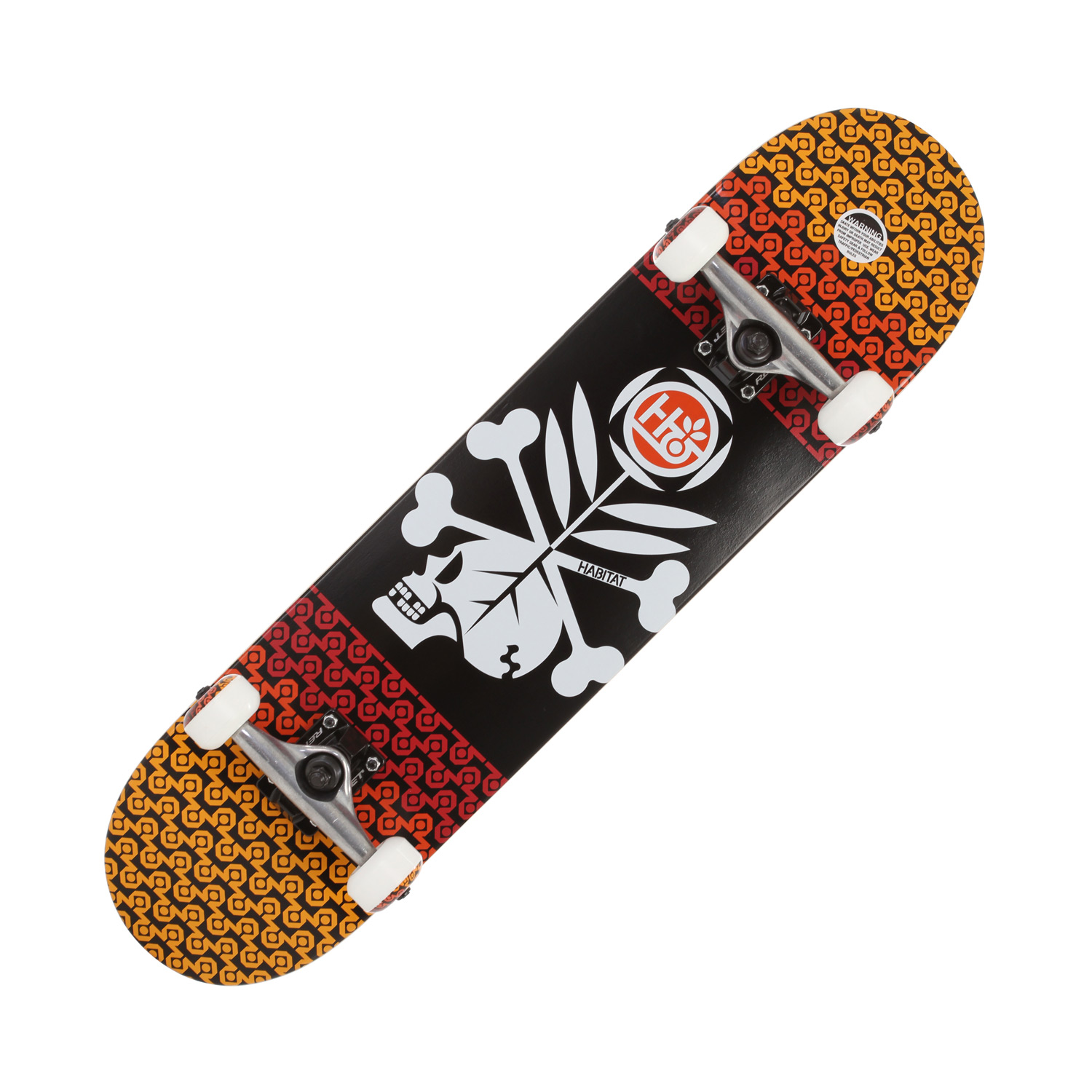 "Skateboard Key Features of the Habitat Rebirth Skateboard Complete: Complete: 31"" long x 7.6"" wide. - $99.95"