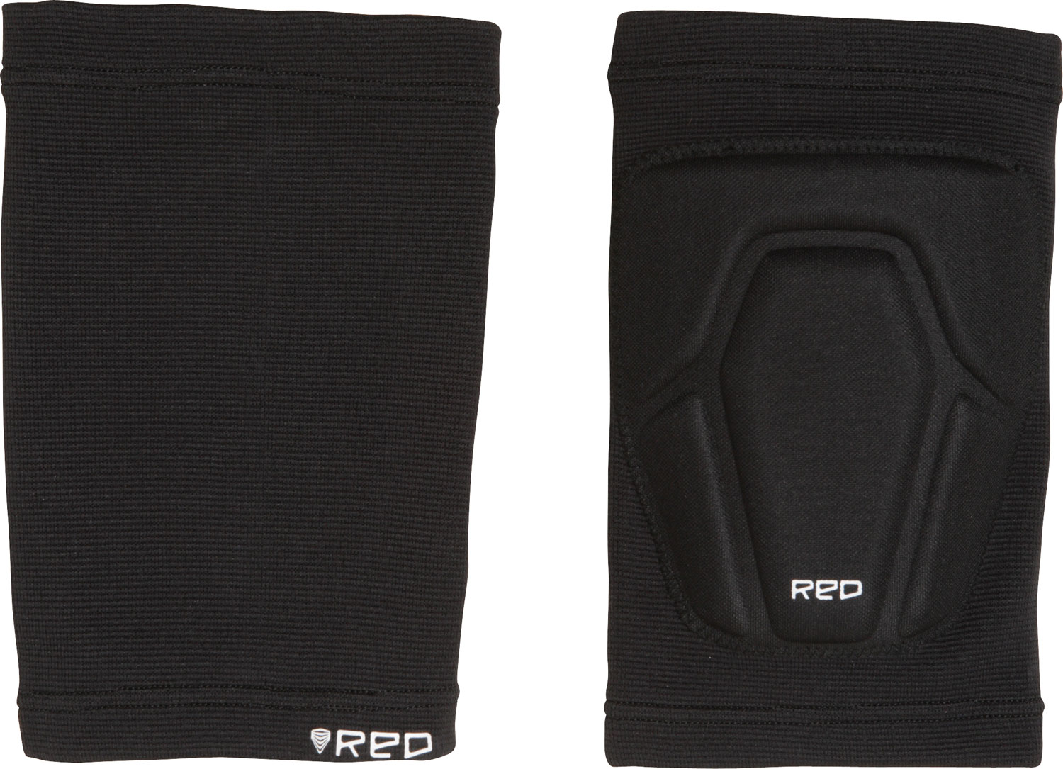 Skateboard Key Features of the Red Basic Knee Pads: Low-Profile, Thin EVA Knee Protection Slip-On Design - $19.95