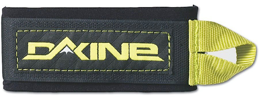 Ski Key Features of the Dakine Ski Straps: Molded EVA pad holds bases apart to protect edges High quality hook and loop for longevity Webbing tab for easier operation with gloves Packaged for individual sale - $5.00