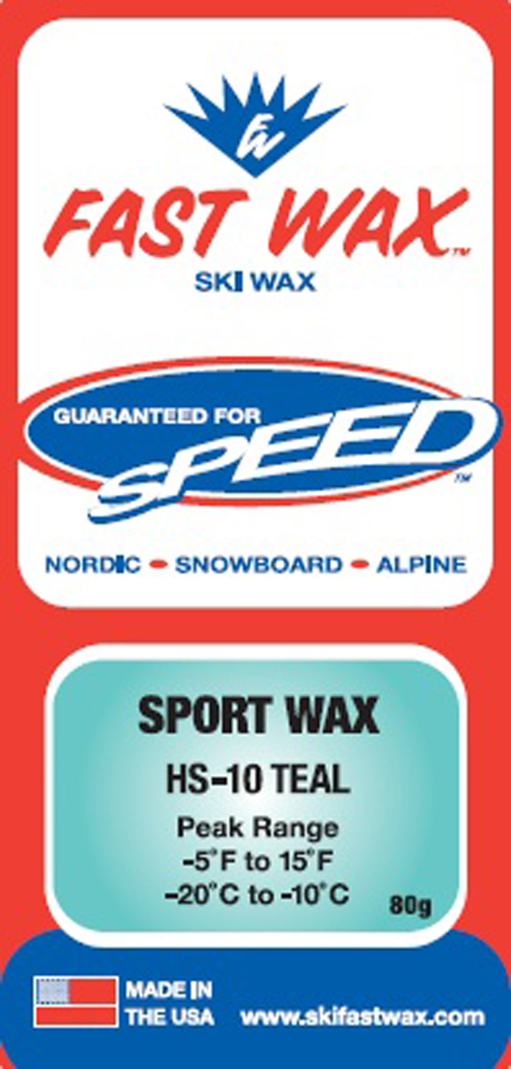 Ski Cold wind blown powdery snow or Man Made Snow, excellent is temperatures in the high single digits.  For new snow use a medium flex ski. For cold hard pack and icy conditions,  a stiff ski works best. Fine linear grind or a 0.2 mm to 0.4 mm linear structure. - $6.95