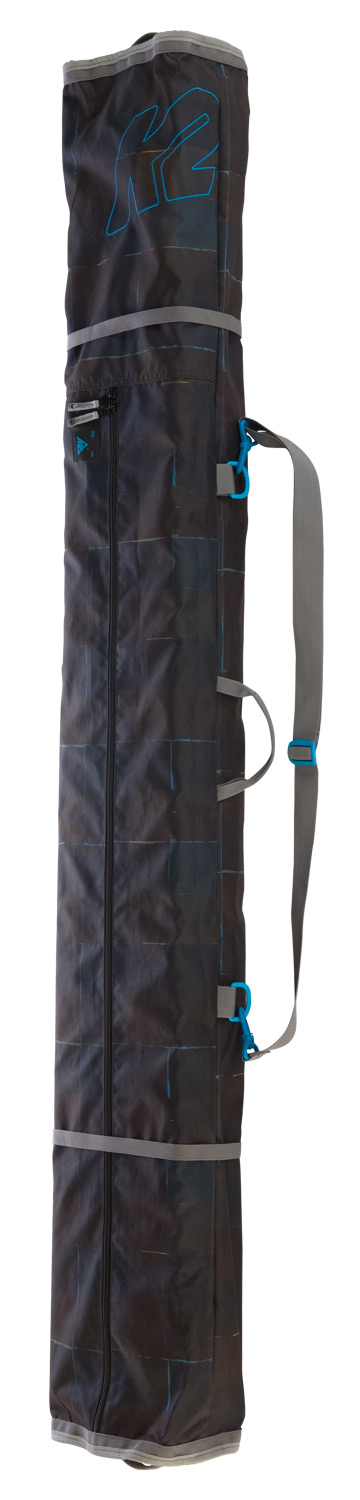 Ski Similar in features to the Deluxe Single,   the Simple Ski Bag is the fixed length   bag option that comfortably carries a   pair of skis, poles, and extra layers. - $49.95