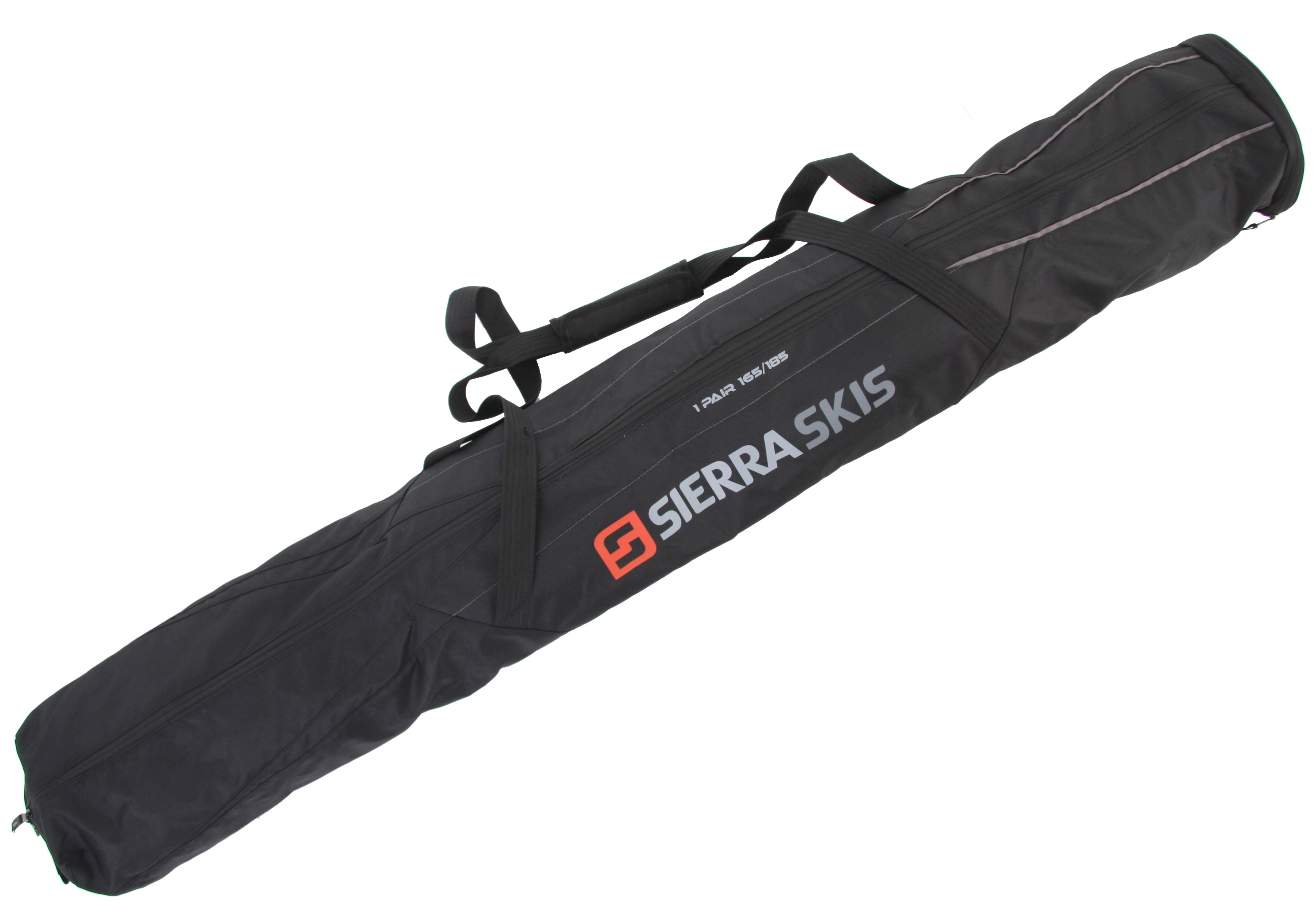 Ski Key Features of the Sierra Logo Ski Bag: Long dual carrying straps Hold pair of skis Non-padded 165-185cm - $24.95