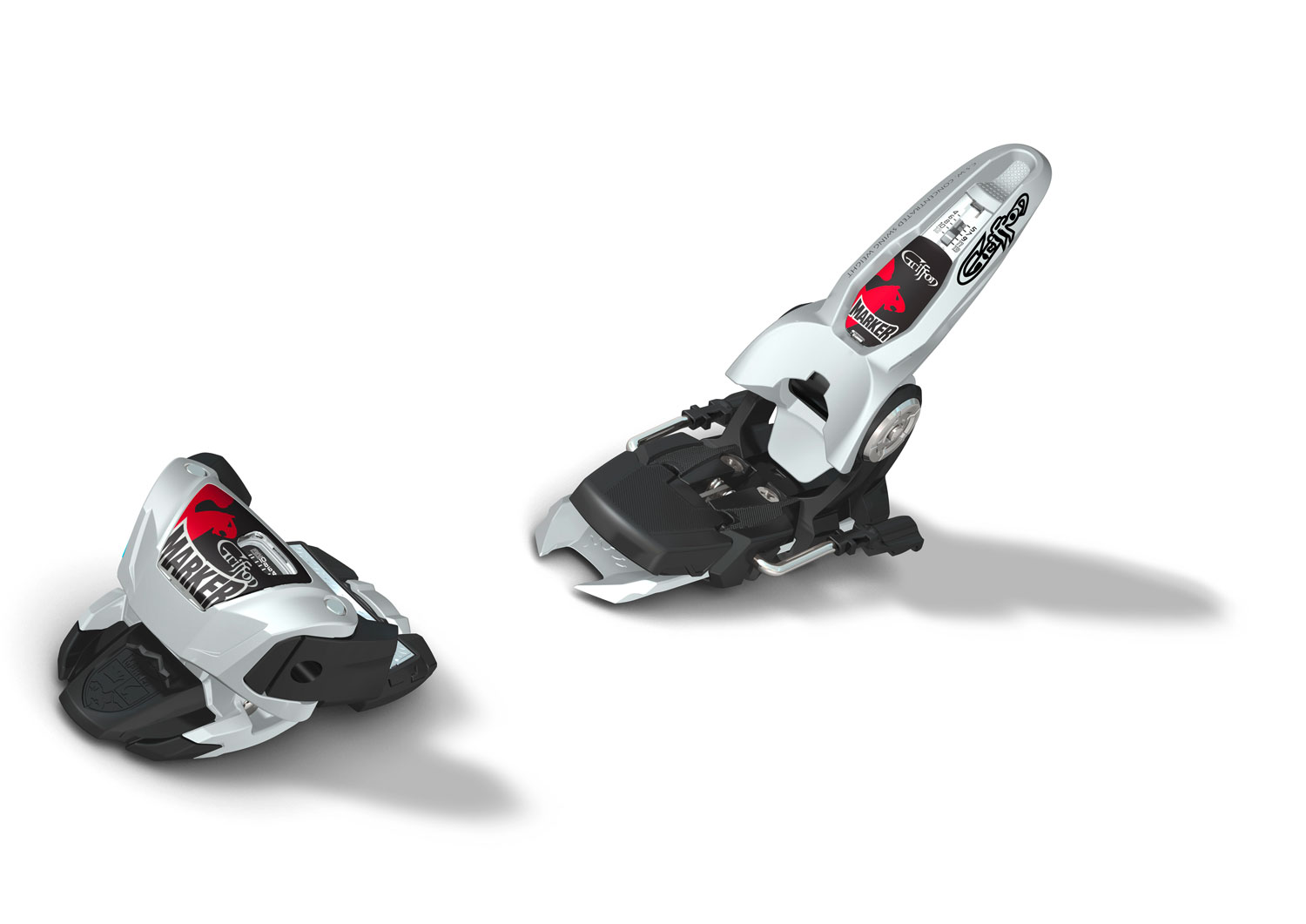 Ski The Griffon has earned a place as the go-to freeskiing binding in the market for anyone looking for a high performance, 13 DIN freeskiing binding.Key Features of the Marker Griffon Ski Bindings: Stand Height Without Ski Only 19 Mm Power Width Design For Superior Power Transmission From The Big Mtn. To The Pipe Cross-Axis Toe Spring And Short Overall Length For Better Ski Flex And Lower Swing Weight No-Pull-Out Screws New 4-13 Din Range On The Griffon New: The Jester And The Griffon Feature A Height-Adjustable AFD For Alpine Boots Din Range 4-13 Recom. Skier's Weight 80+ Lbs. Stand Height W/O Ski 22 Mm Toe System Triple Pivot Compact Gliding AFD Height Adjustable, Alpine Step-In Heel Comfort 2 EPS System Toe Height Adjustability Freeride Brake No-Pull-Out Screws (Heel) - $159.95