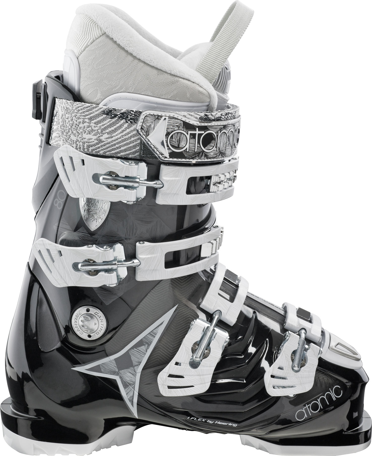 Ski Key Features of the Atomic Hawx 80 Ski Boots: 80 Flex Edge 7000 buckle 35mm strap ASY Sport T1 liner + Clima Foam Medium Fit Soft Flex - $241.95